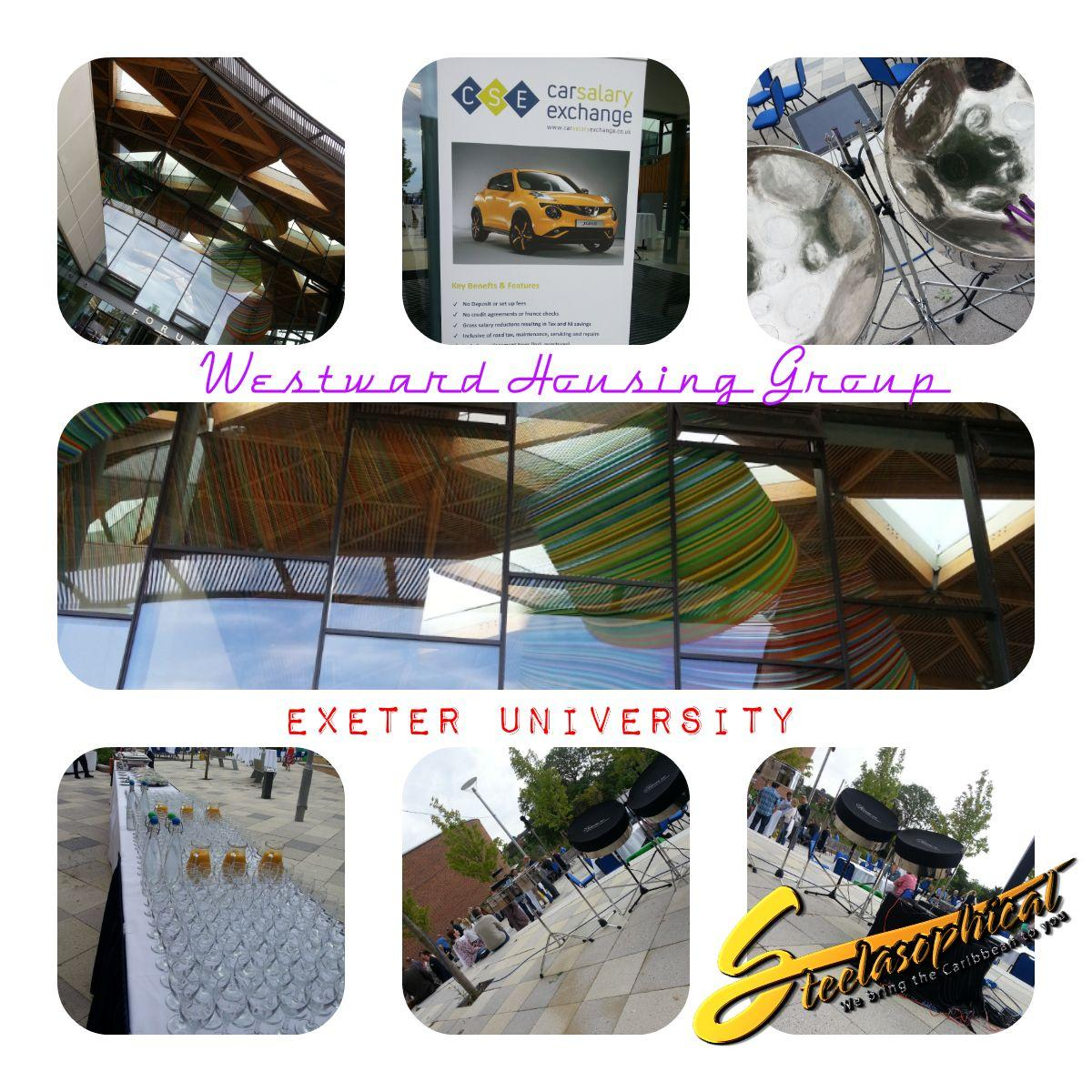 Steelband steelpan steeldrums steelasophical music hire uk exeter university