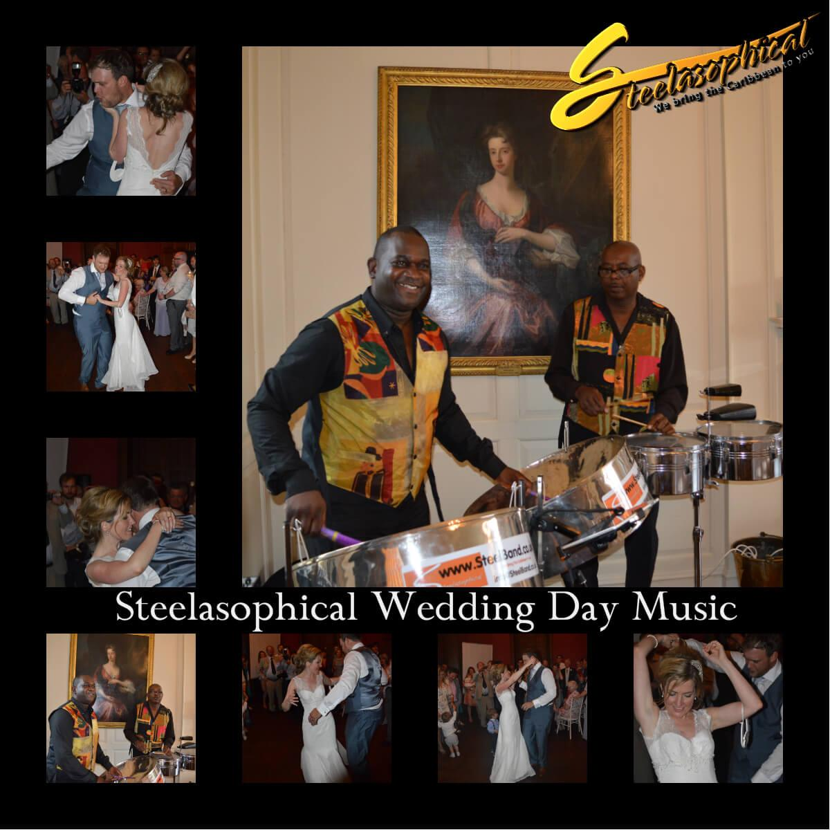 real weddings by steelasophical steel band hire uk