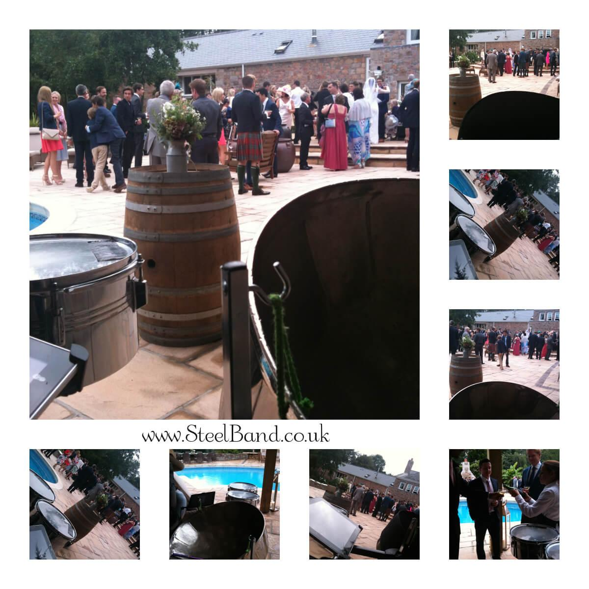real weddings steelasophical steel band hire uk jersey