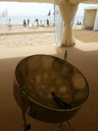 Beach Weddings Bournemouth Steelasophical Steelband
