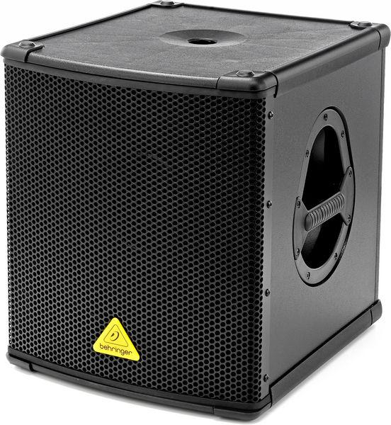 Behringer B1200D Active Subwoofer Steelasophical SteelBand & DJ