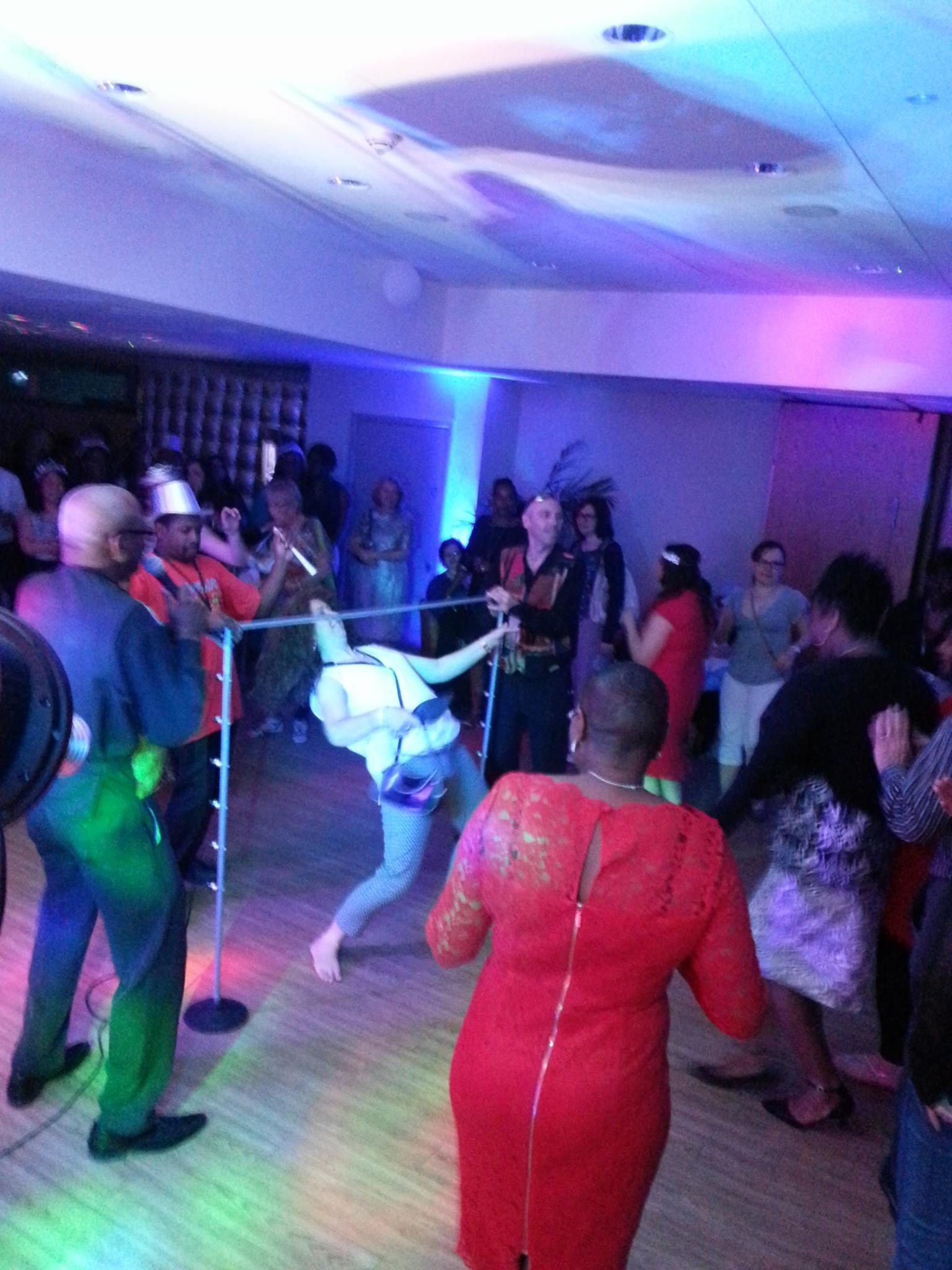 Caribbean Dj Limbo Dance Steel band limbo by design Steelasophical steel band