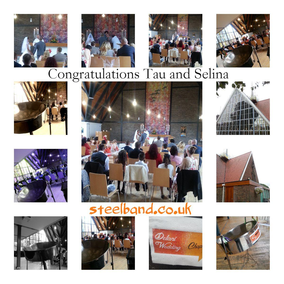 Steelasophical SteelBandHire DJ 4 Part Wedding Ceremony uk