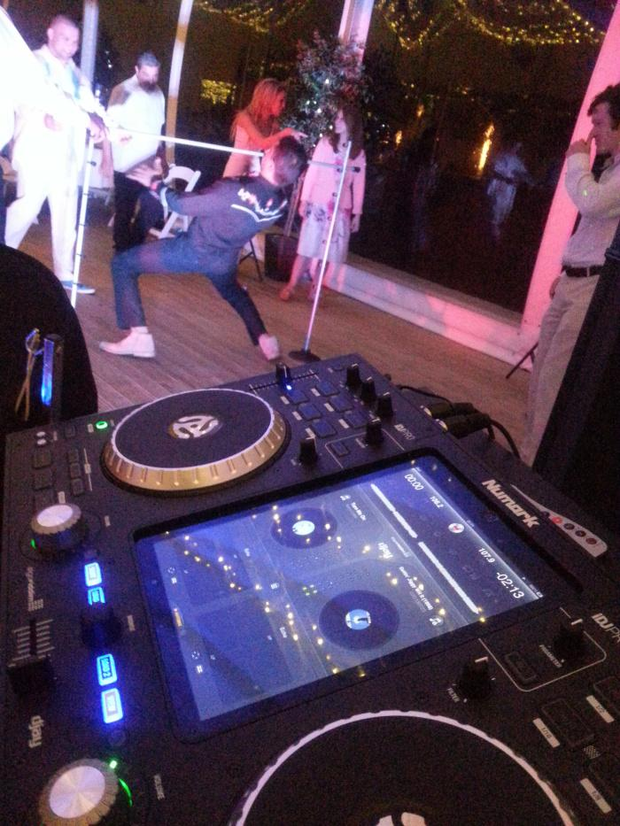 Steelasophical professional caribbean dj and limbo dance kit b