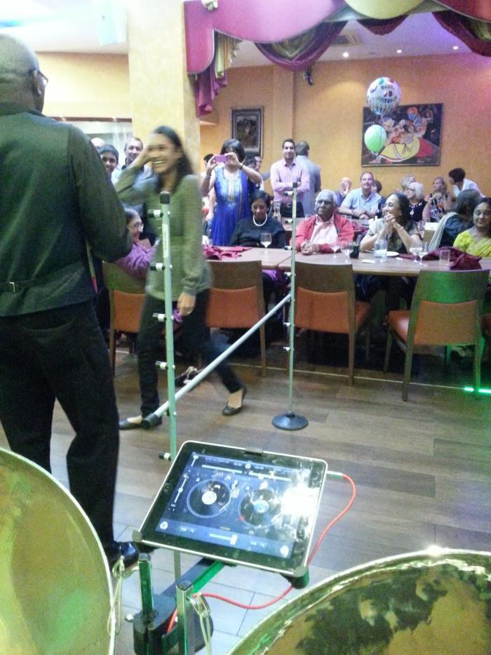 Caribbean Dj Limbo Dance Steel band limbo by design Steelasophical steel band vbv