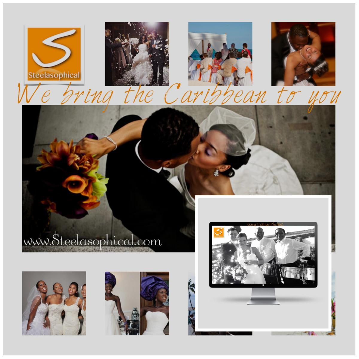 Steelasophical wedding steel band hire Steelpan