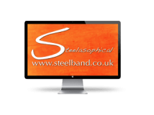 Steelasophical Steel Band DJ Logo