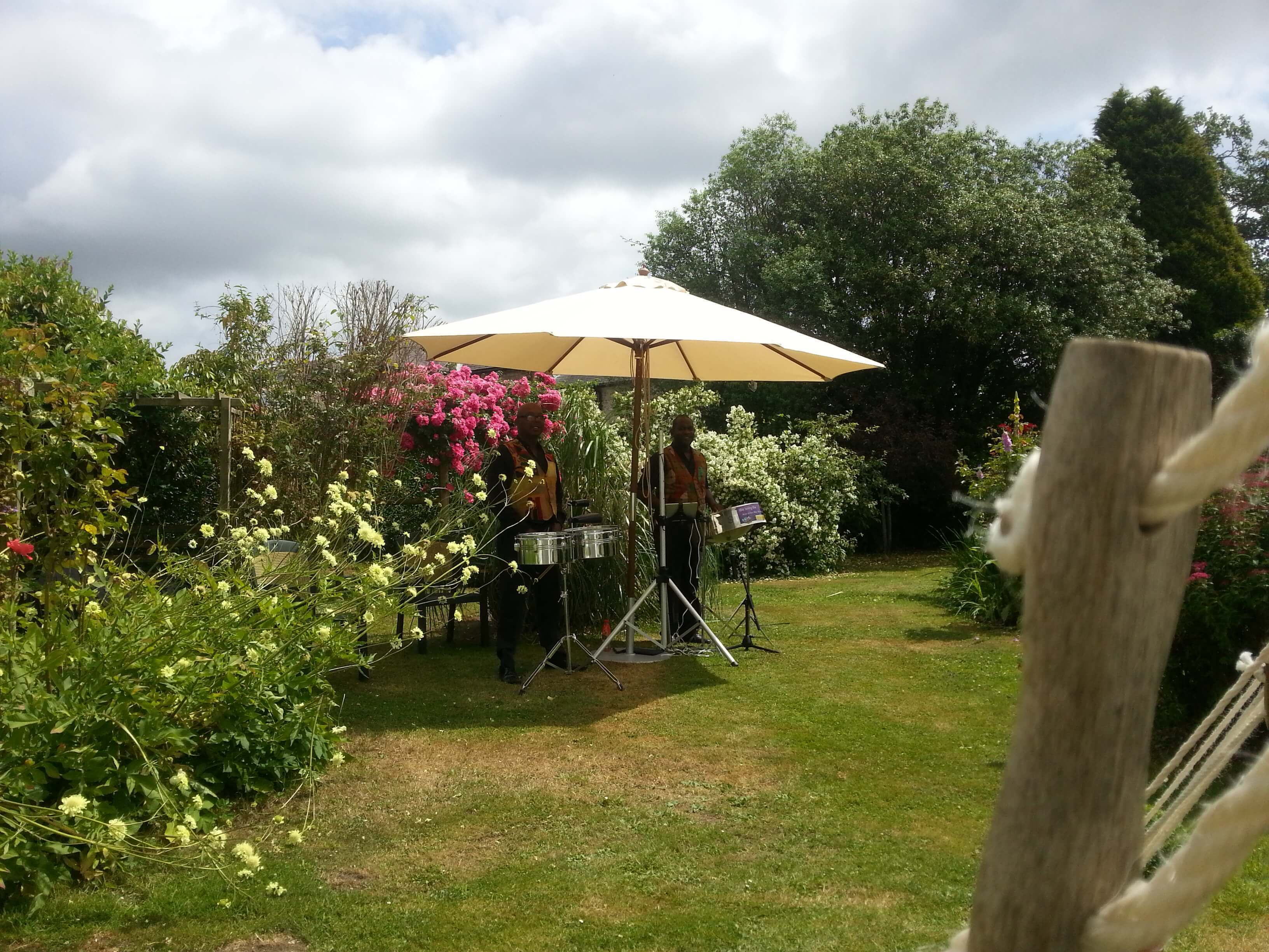 steelasophical steel band for hire