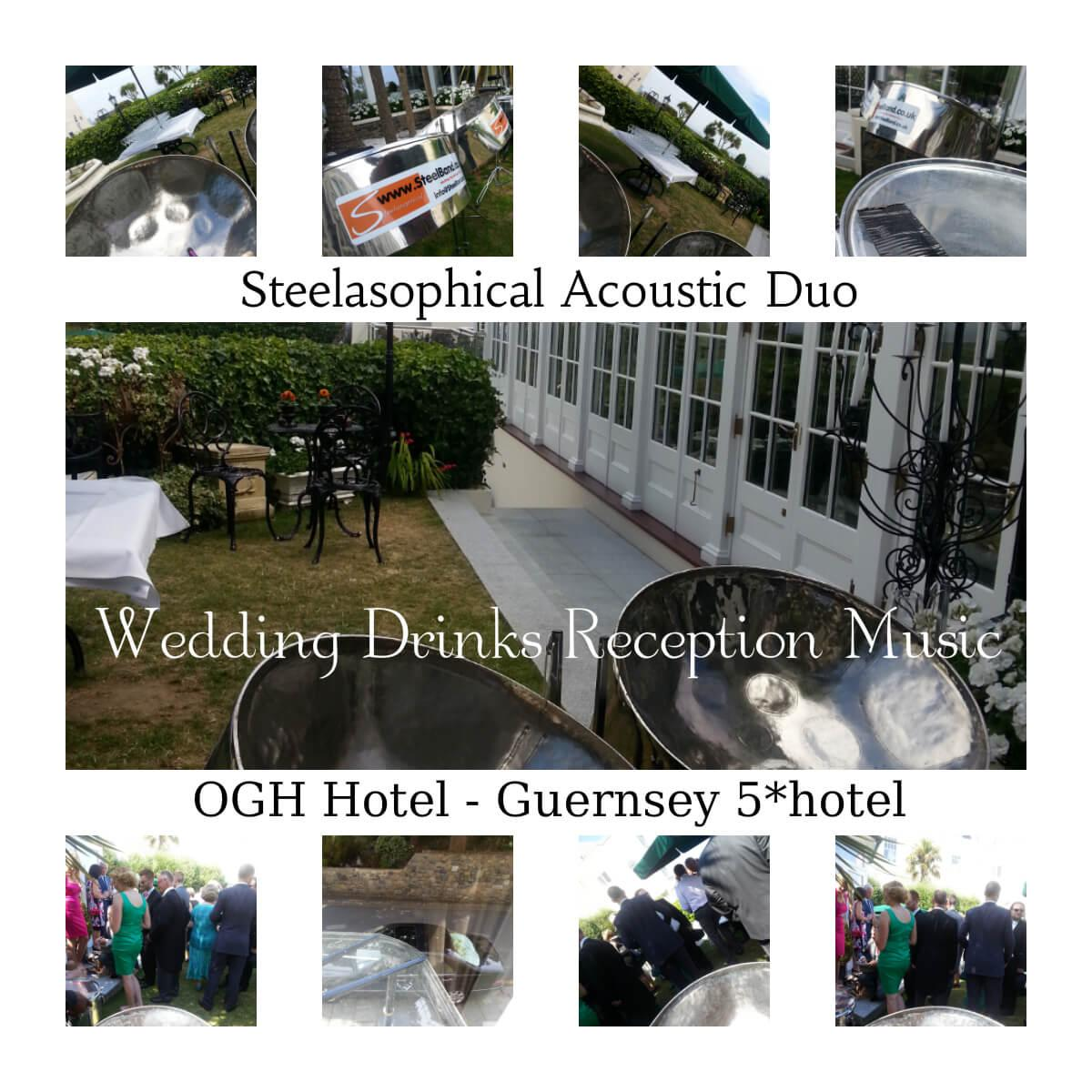 Old Government House Hotel Weddings Steelasophical steel band hire Guernsey