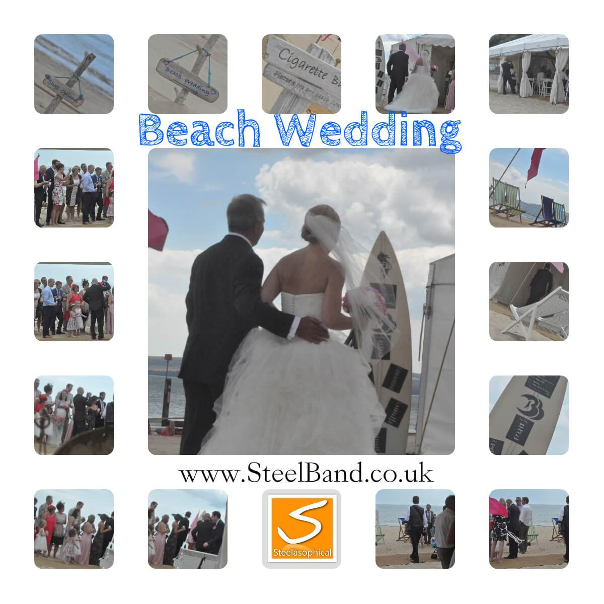 Beach Weddings Bournemouth Steeasophical
