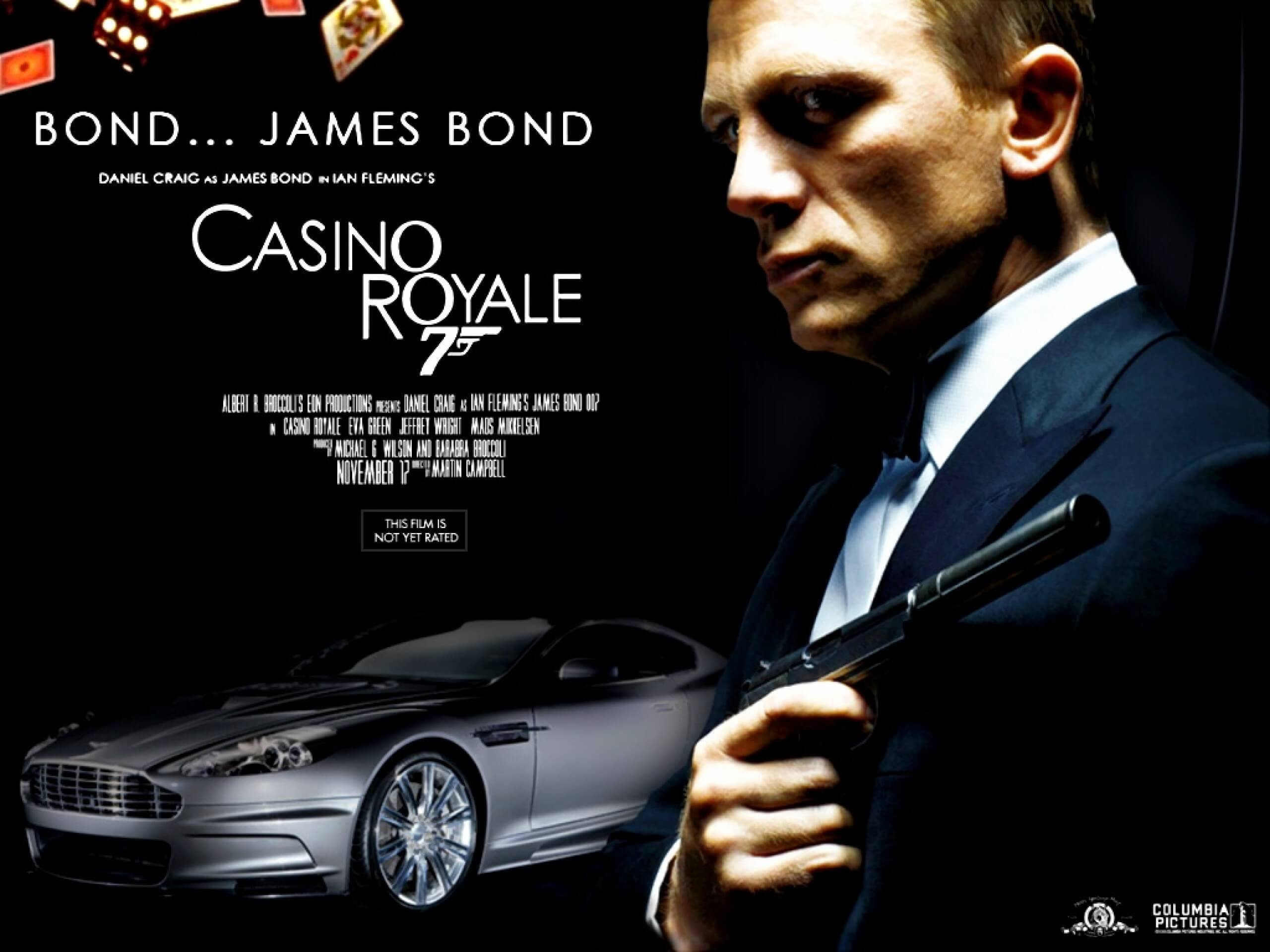 James Bond 007 Casino Royale Gary Trotman