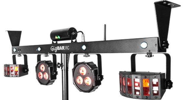 Chauvet Gigbar Steelasophical dj