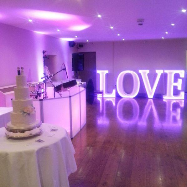 The Ashes wedding venue steelasophical steel band hire