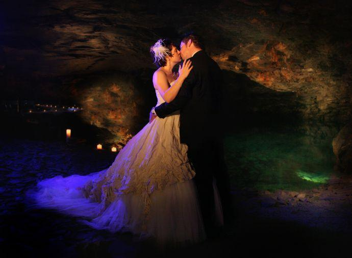 Carnglaze Caverns Wedding Steelasophical