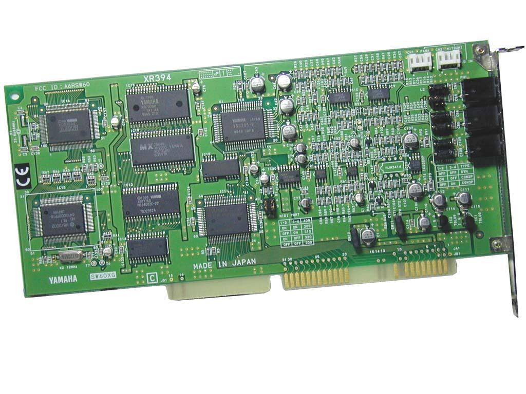 Yamaha SW60GX Sound Card used for PanBrassOrama