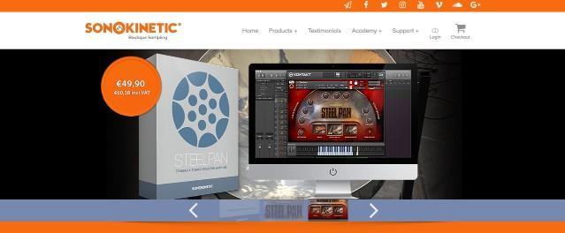 SonoKinetic Steelpan Buy Online
