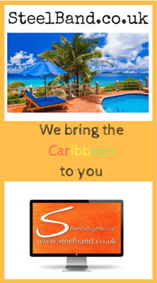 Steelasophical Caribbean steel band hire