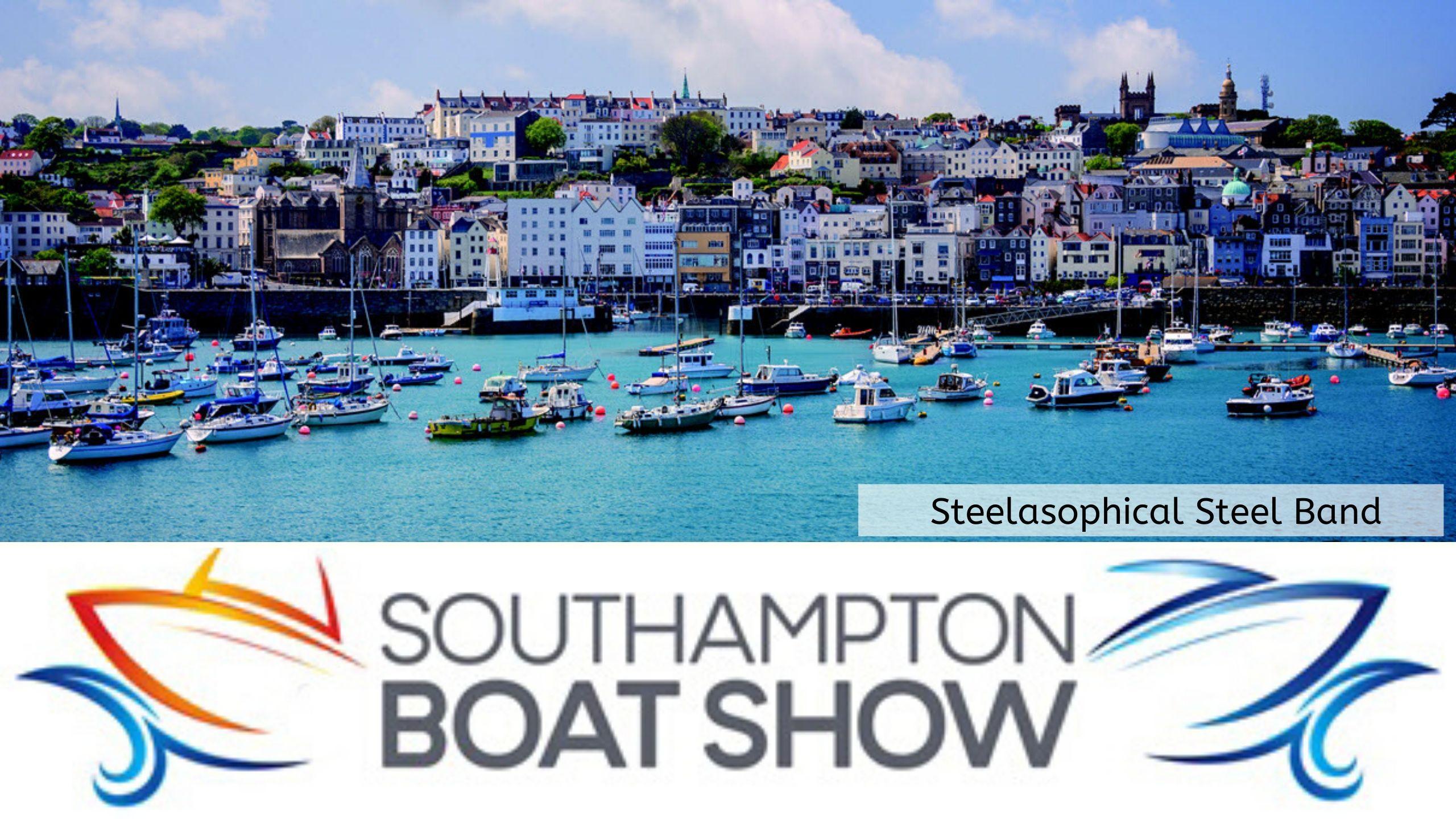 Steelasophical Steel Band Soton Southampton Boat Show YachtMarket Yacht Market