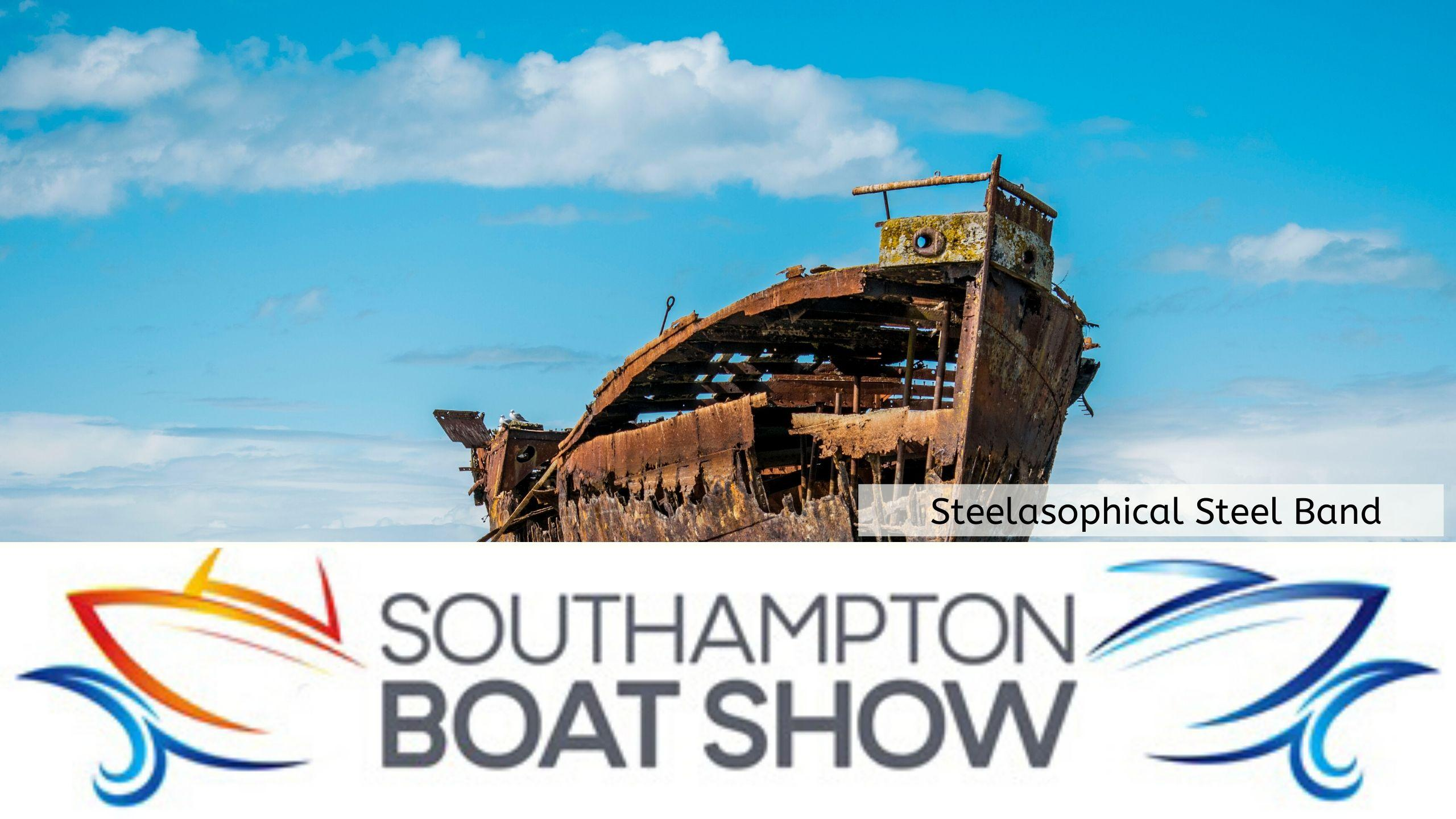Steelasophical Steel Band Southampton Boat Show Yacht Market Entertainment 00vve