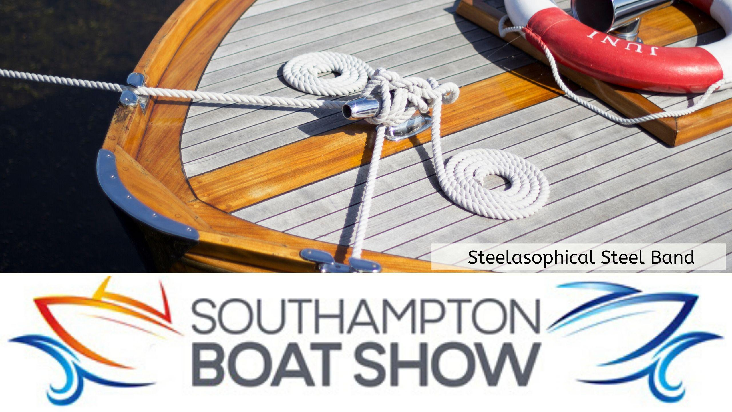 Steelasophical Steel Band Southampton Boat Show Yacht Market Entertainment 00v