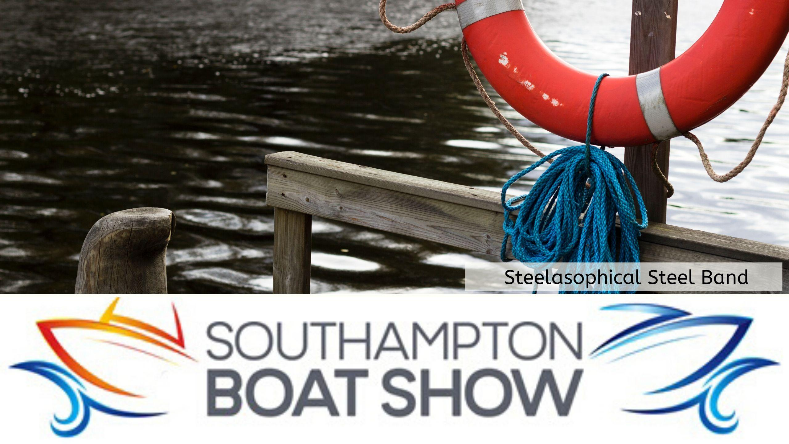 Steelasophical Steel Band Southampton Boat Show Yacht Market Entertainment 00