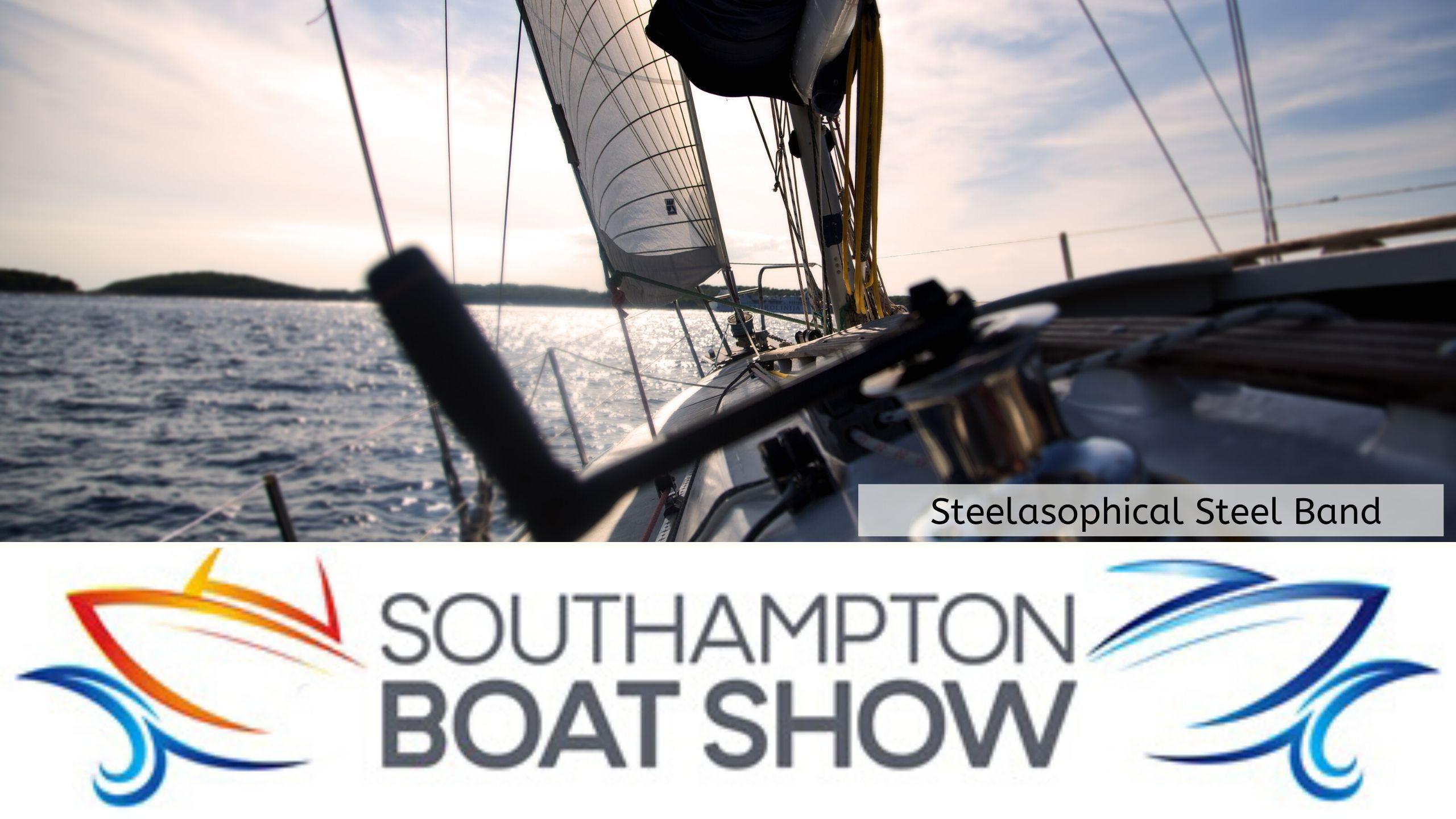 Steelasophical Steel Band Southampton Boat Show Yacht Market Music Stage 2eeeeeffew