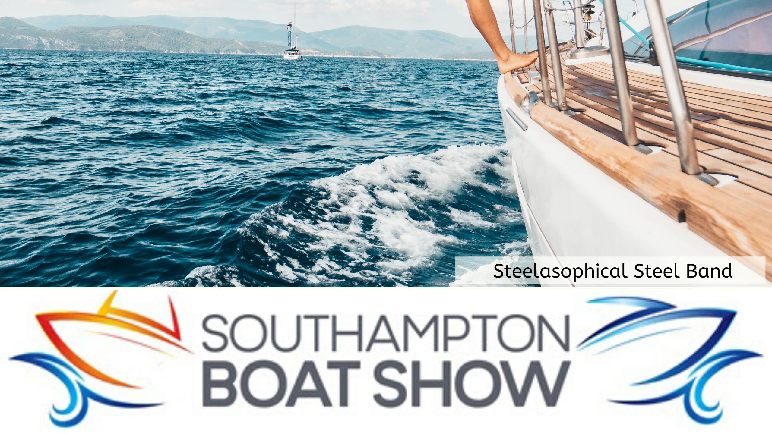 Steelasophical Steel Band Southampton Boat Show Yacht Market Music Stage 22eee