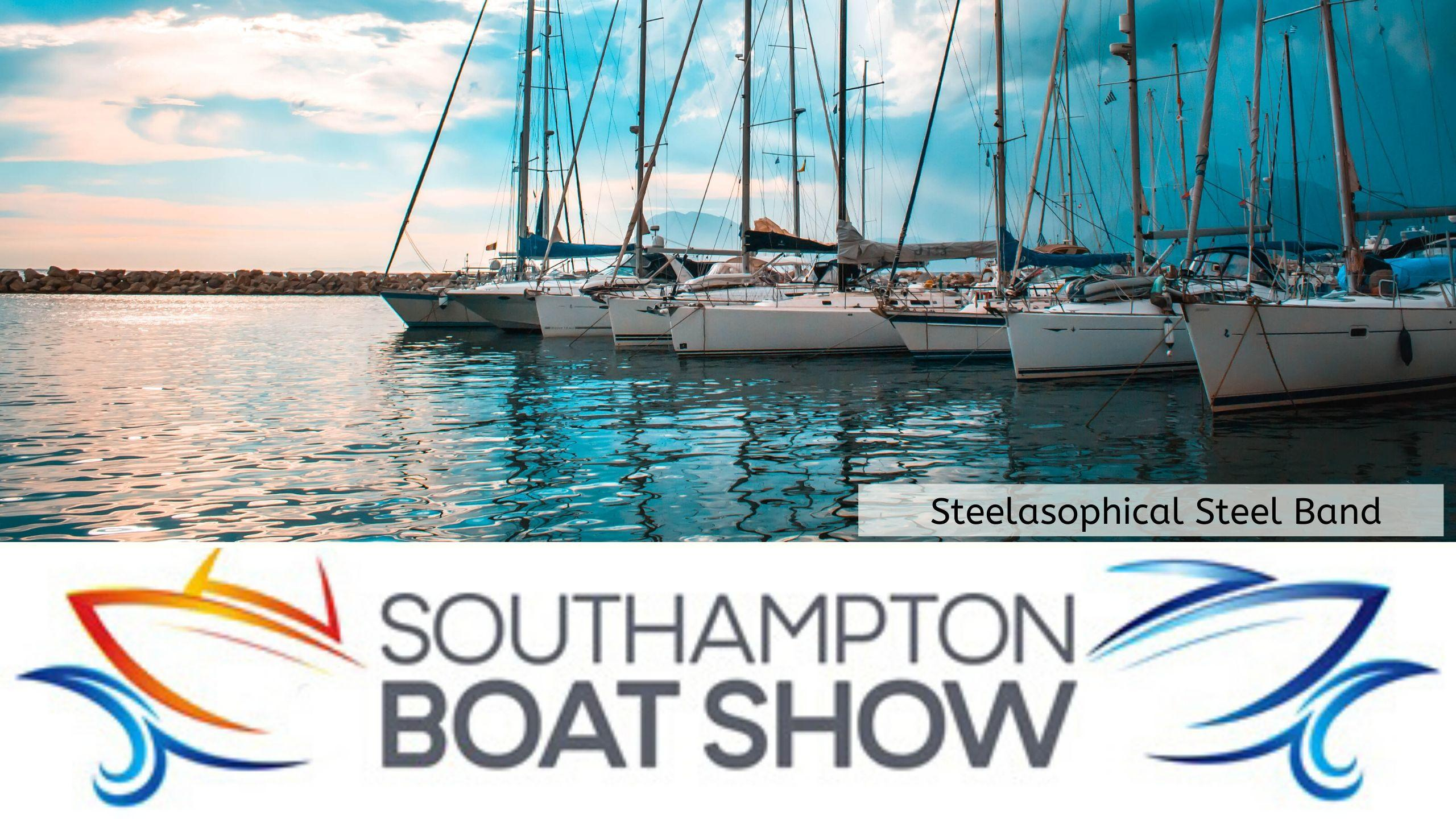 Steelasophical Steel Band Southampton Boat Show Yacht Market Music Stage 22e