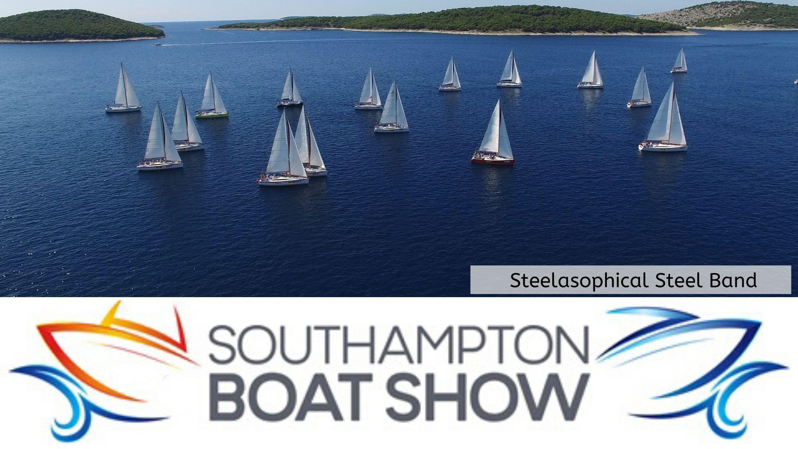Steelasophical Steel Band Southampton Boat Show Yacht Market Music Stage 22