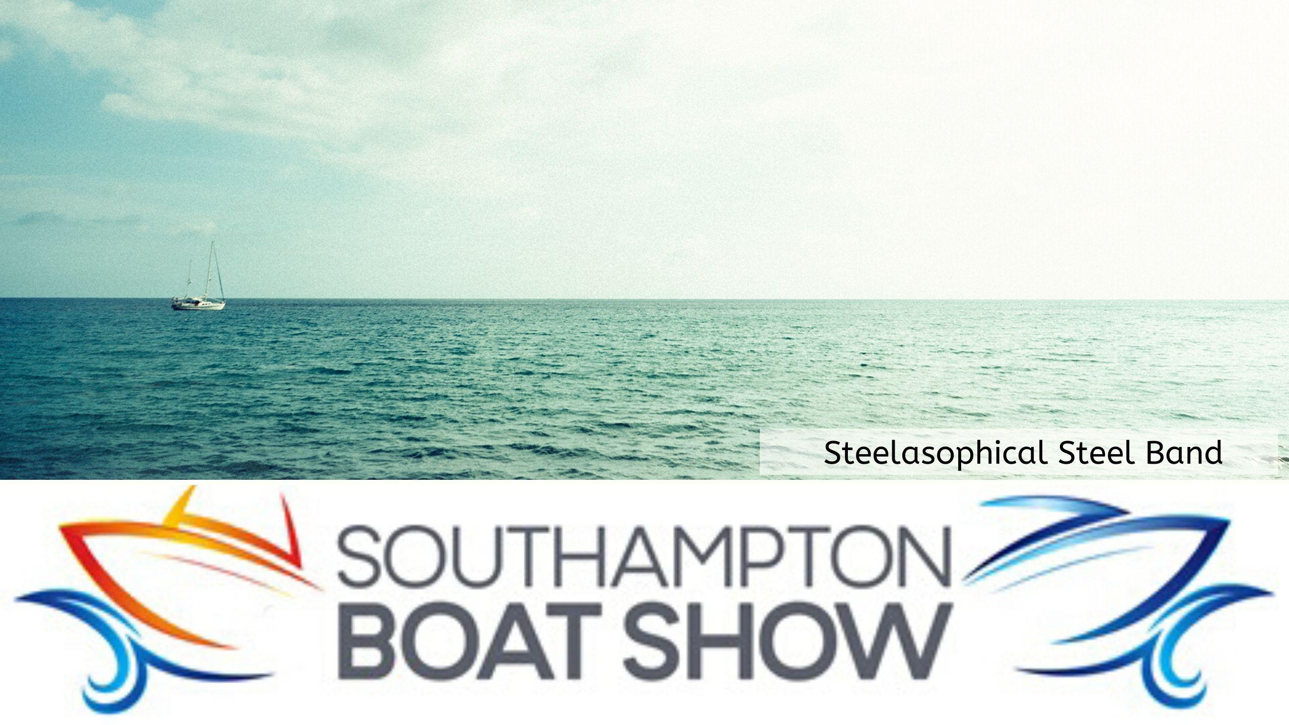 Steelasophical Steel Band Southampton Boat Show Yacht Market Music Stage
