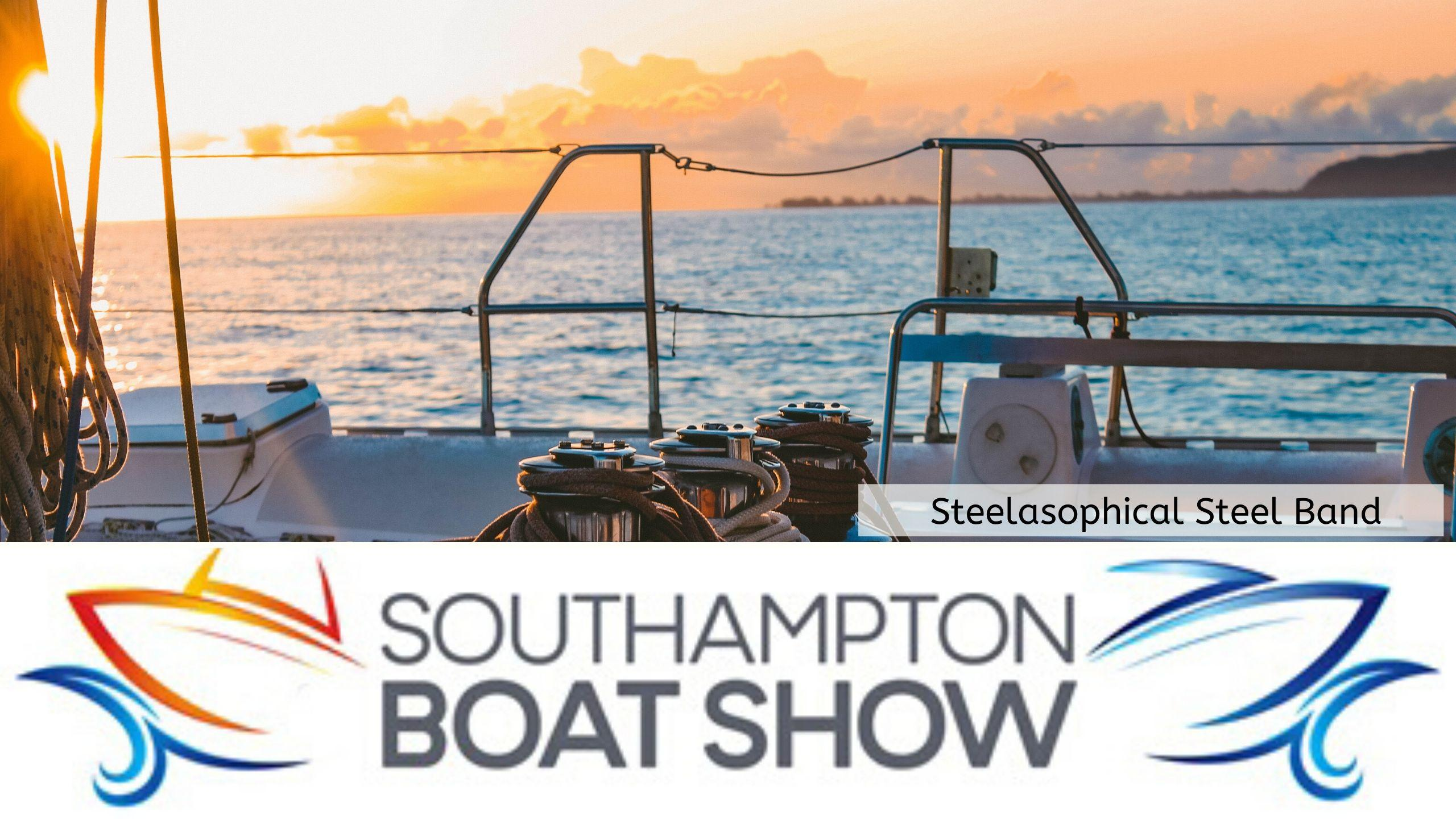 Steelasophical Steel Band Southampton Boat Show Yacht Market 2018