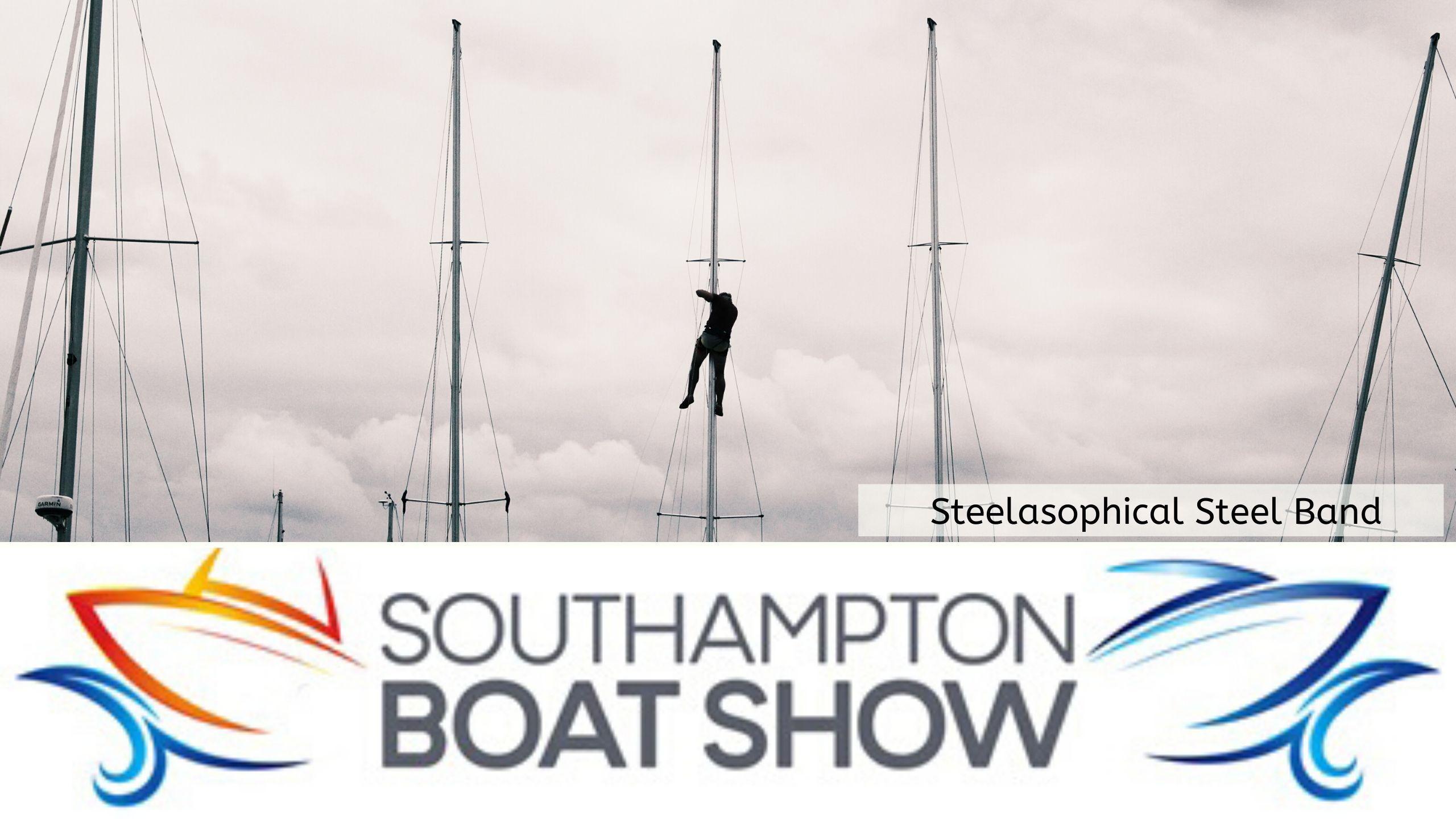 Steelasophical Steel Band Southampton Boat Show Yacht Market 2022