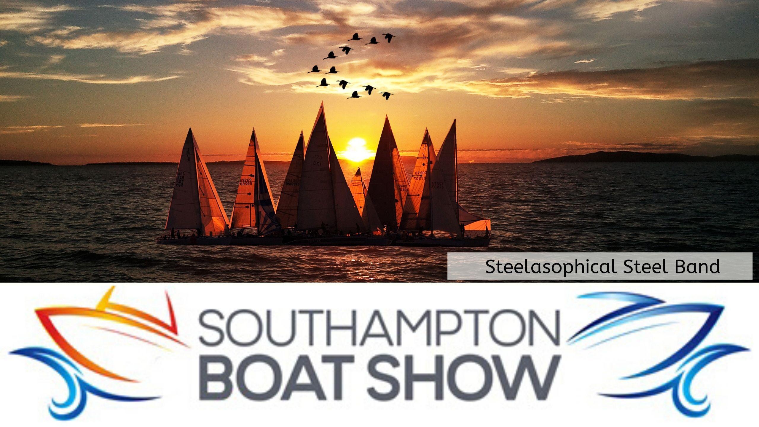 Steelasophical Steel Band Southampton Boat Show Yacht Market Sailing Sea