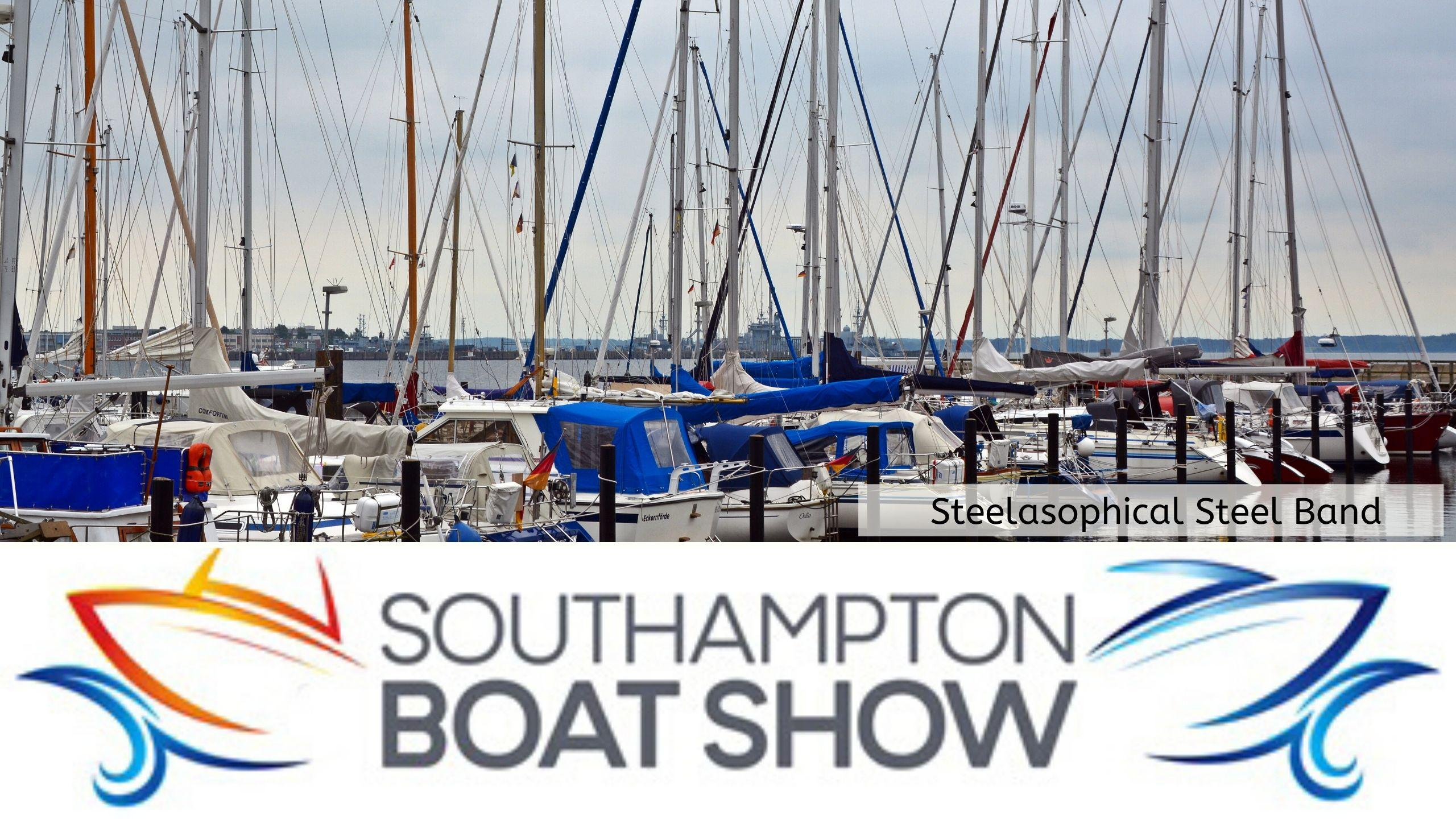 Steelasophical Steel Band Southampton Boat Show Yacht Market Sailing Ships