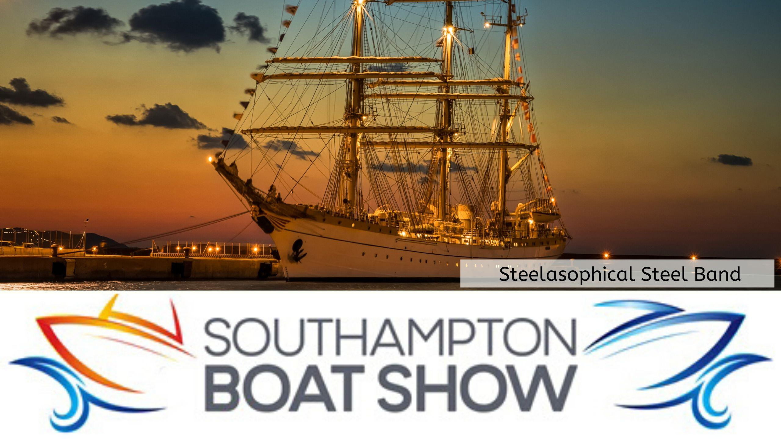 Steelasophical Steel Band Southampton Boat Show Yacht Market Tall Ships