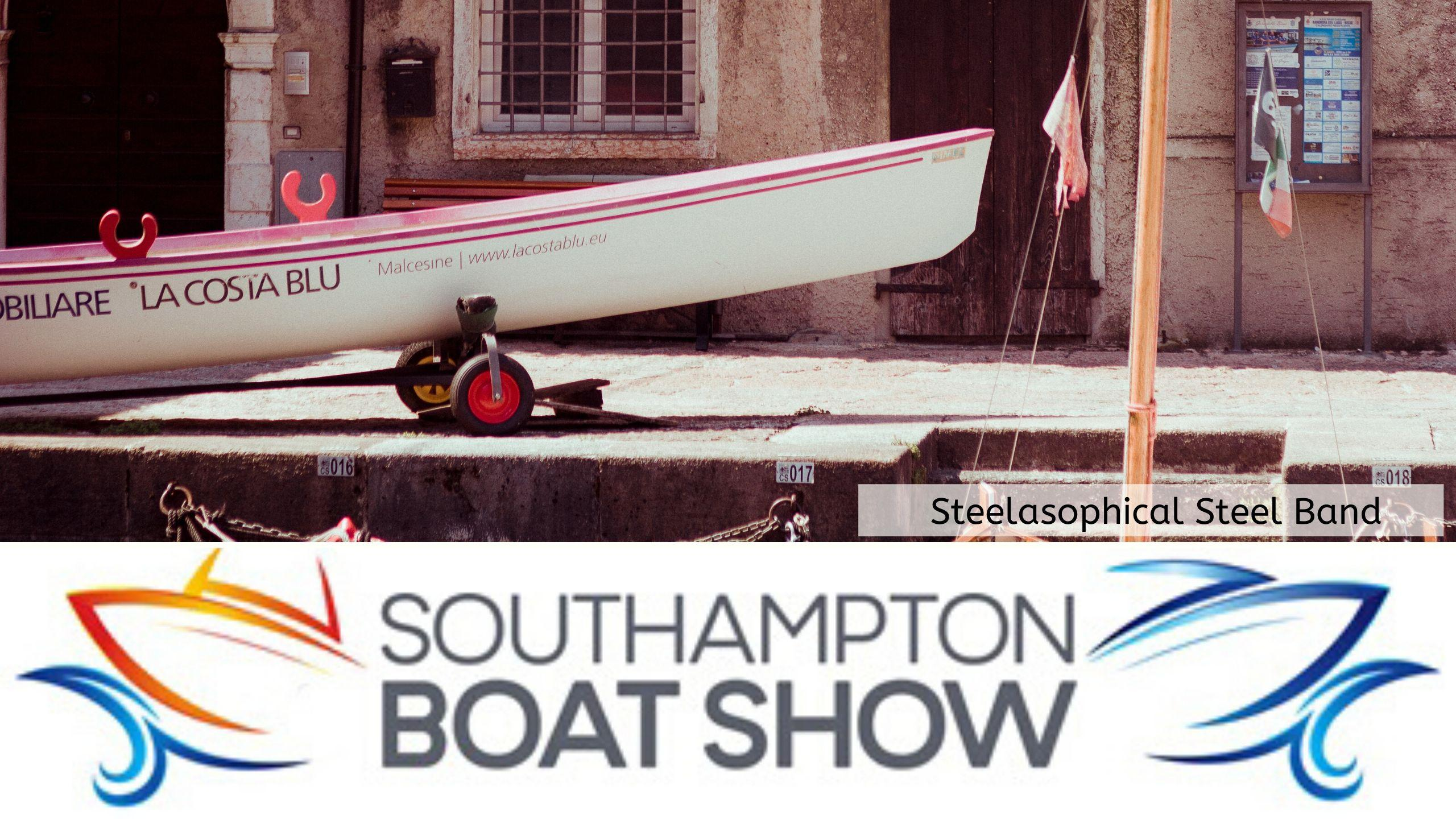 Steelasophical Steel Band Southampton Boat Show Yacht Market swdefr