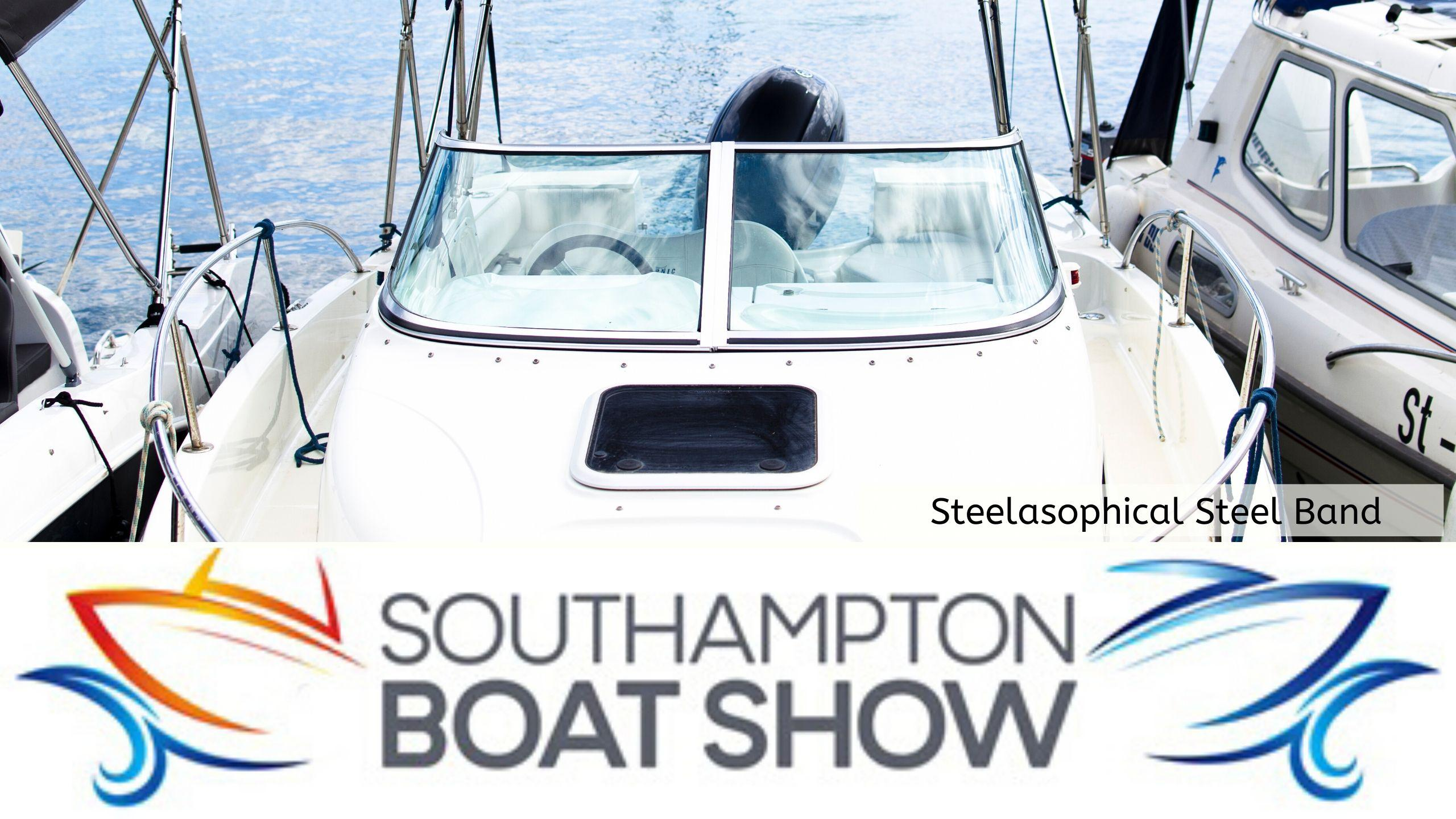 Steelasophical Steel Band Southampton Boat Show Yacht Market photography