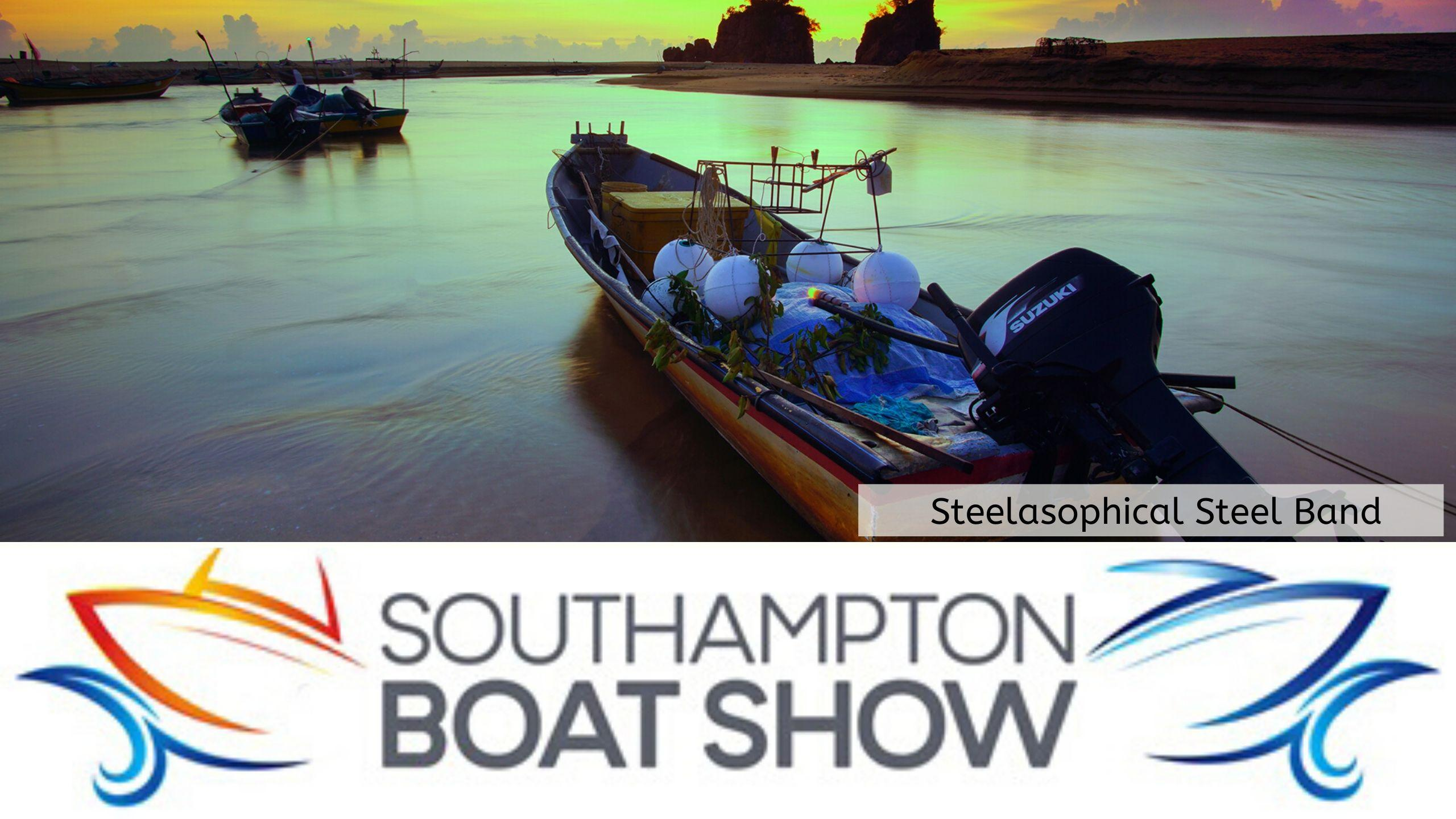 Steelasophical Steel Band Southampton Boat Show Yacht Market dt3tt3