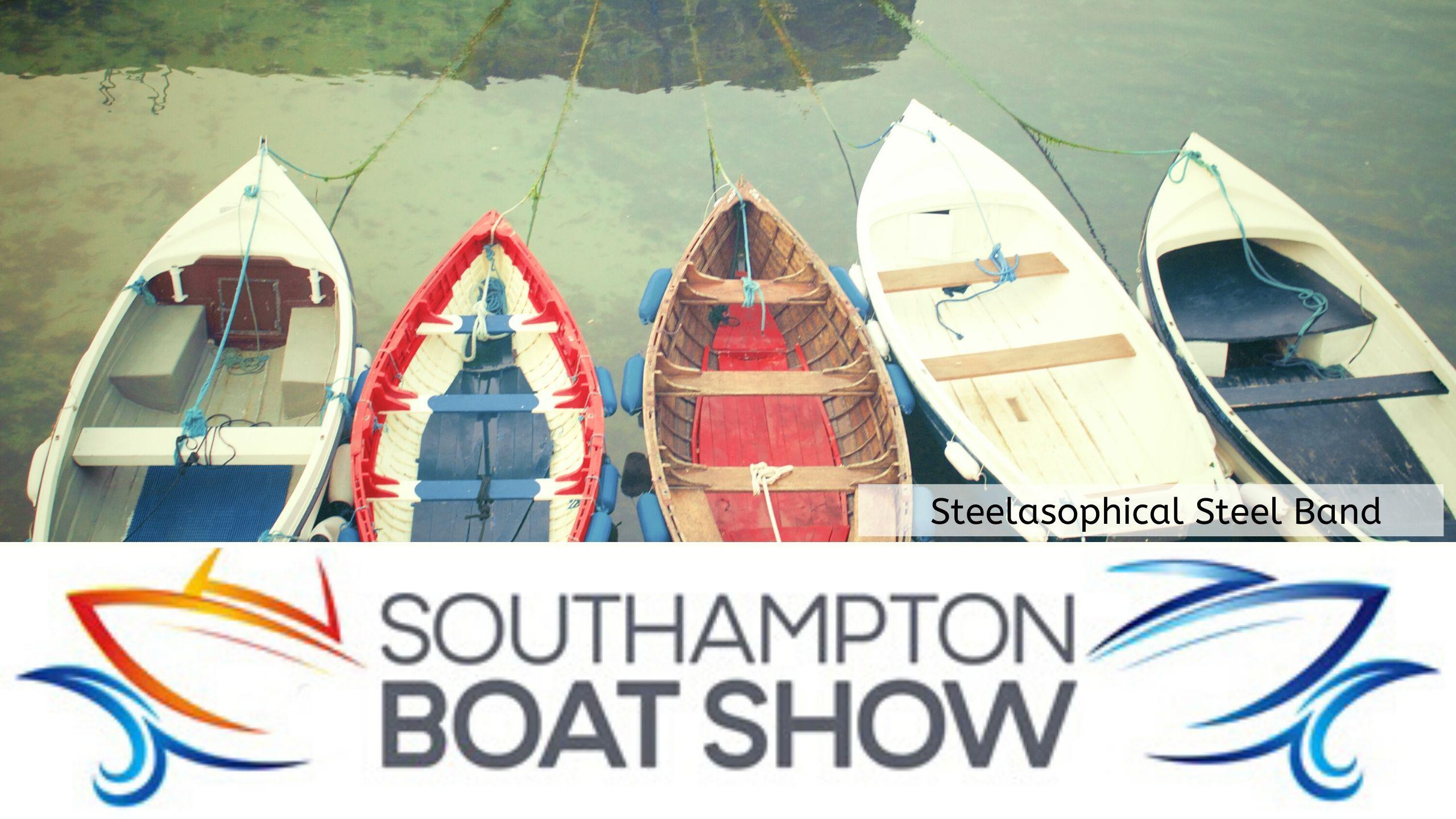 Steelasophical Steel Band Southampton Boat Show Yacht Market dt3tt