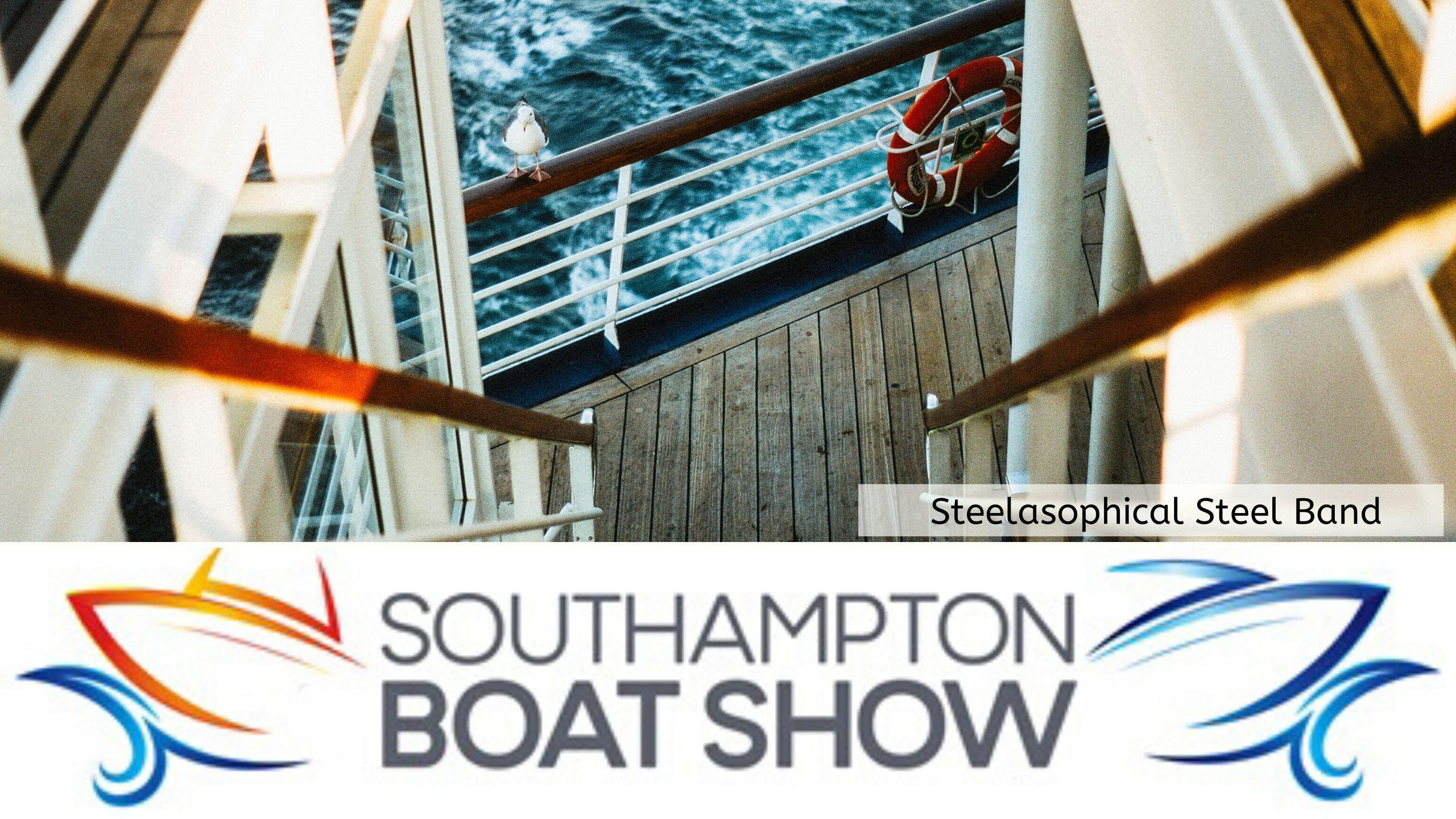 Steelasophical Steel Band Southampton Boat Show Yacht Market d3t