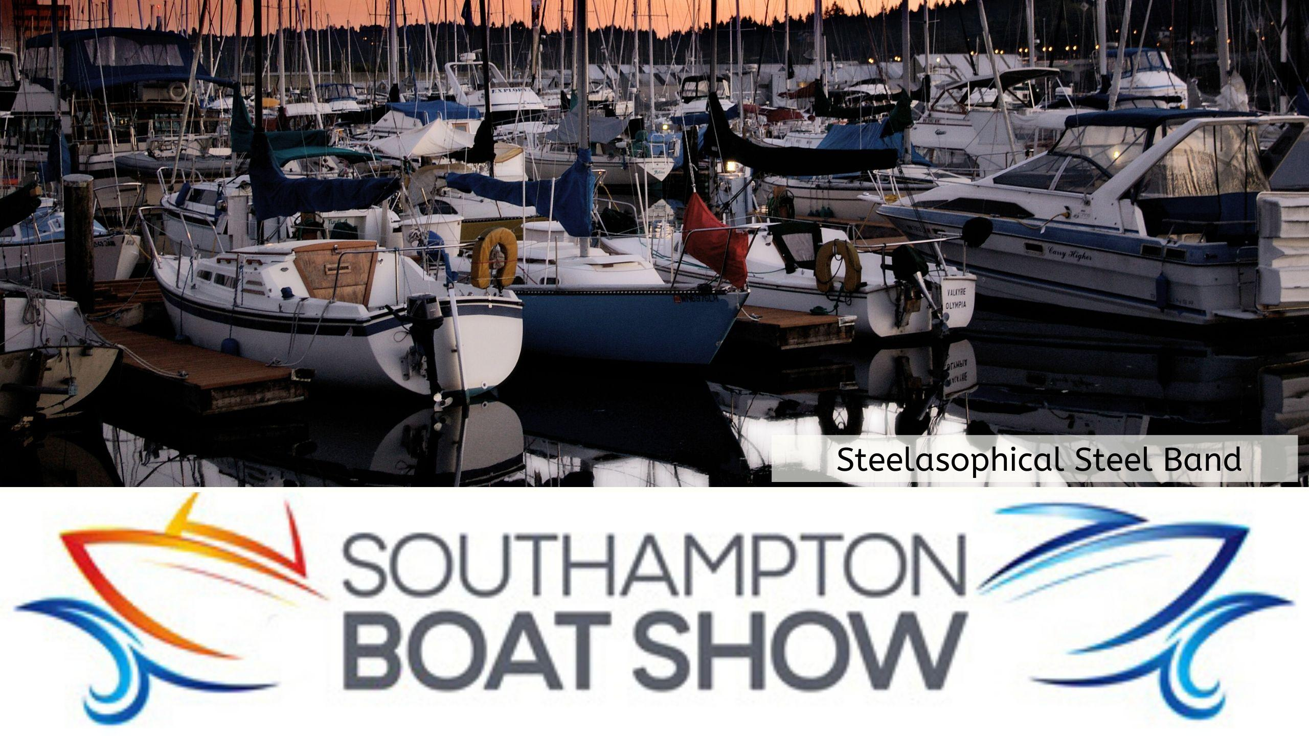 Steelasophical Steel Band Southampton Boat Show Yacht Market d34534534534534