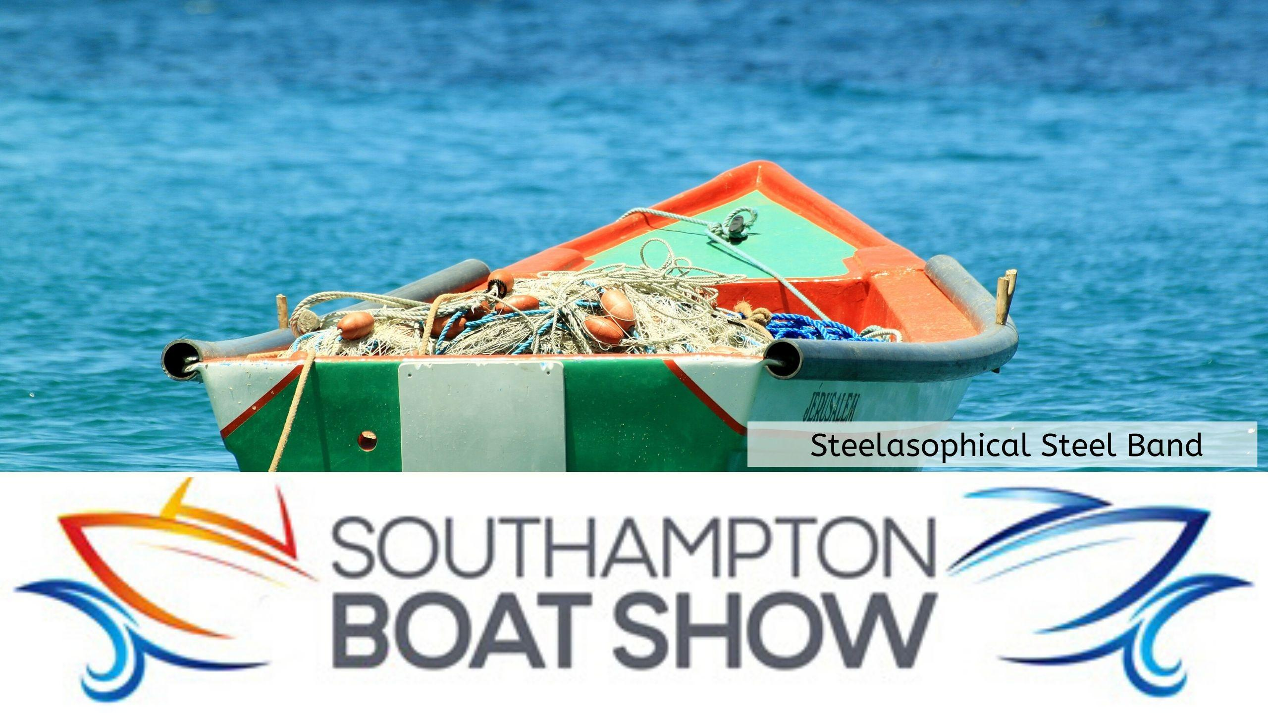 Steelasophical Steel Band Southampton Boat Show Yacht Market d34