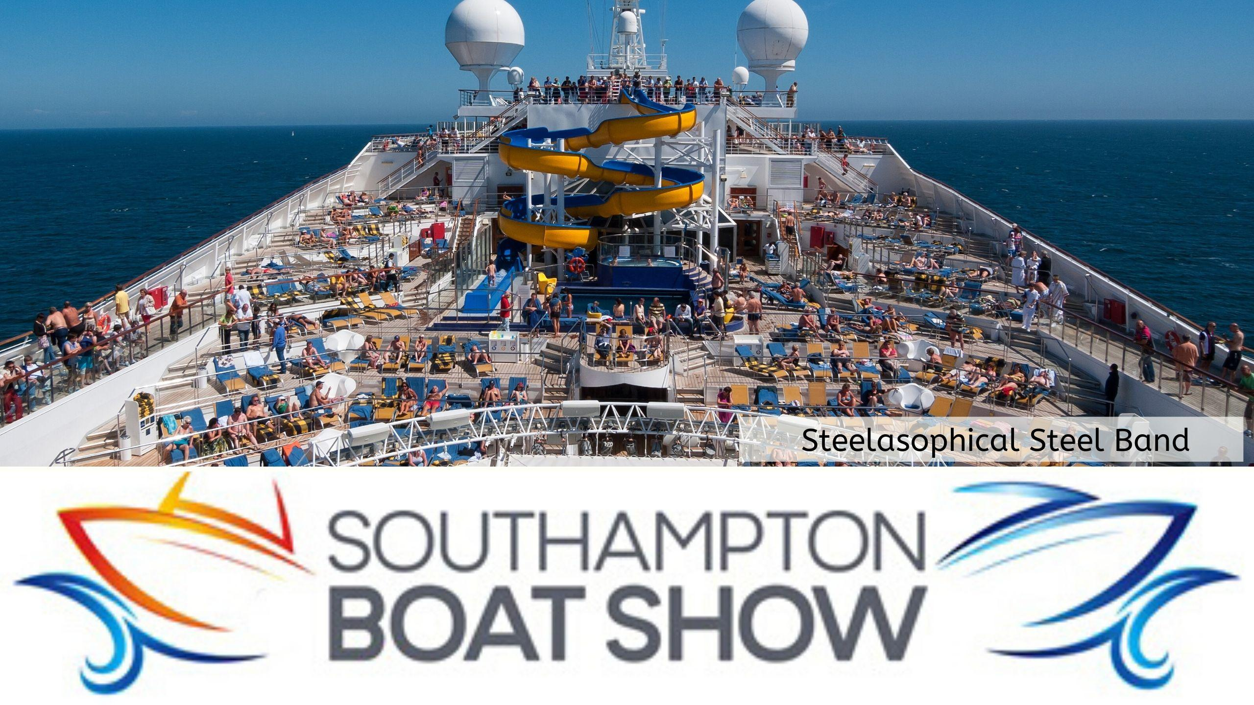 Steelasophical Steel Band Southampton Boat Show Yacht Market d333