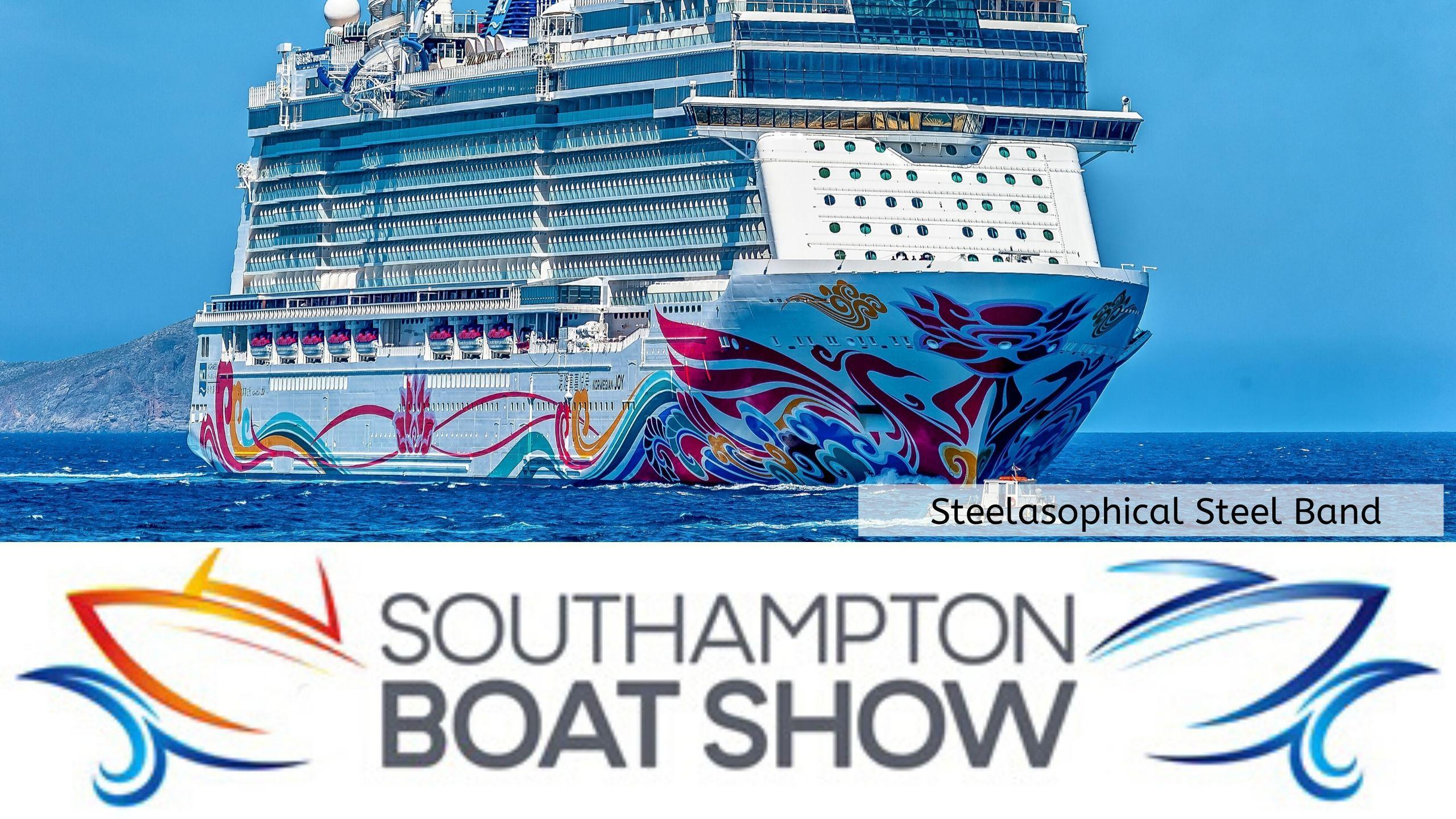 Steelasophical Steel Band Southampton Boat Show Yacht Market dcs
