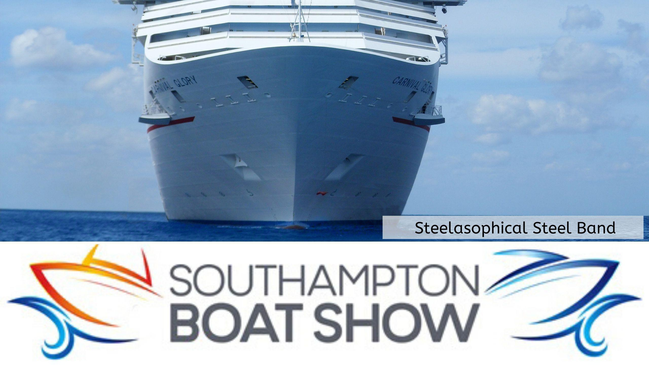 Steelasophical Steel Band Southampton Boat Show Yacht Market 8wd