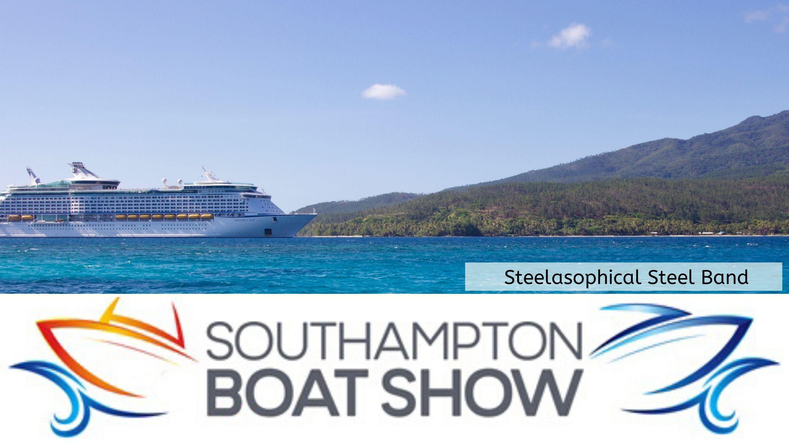 Steelasophical Steel Band Southampton Boat Show Yacht Market 8585