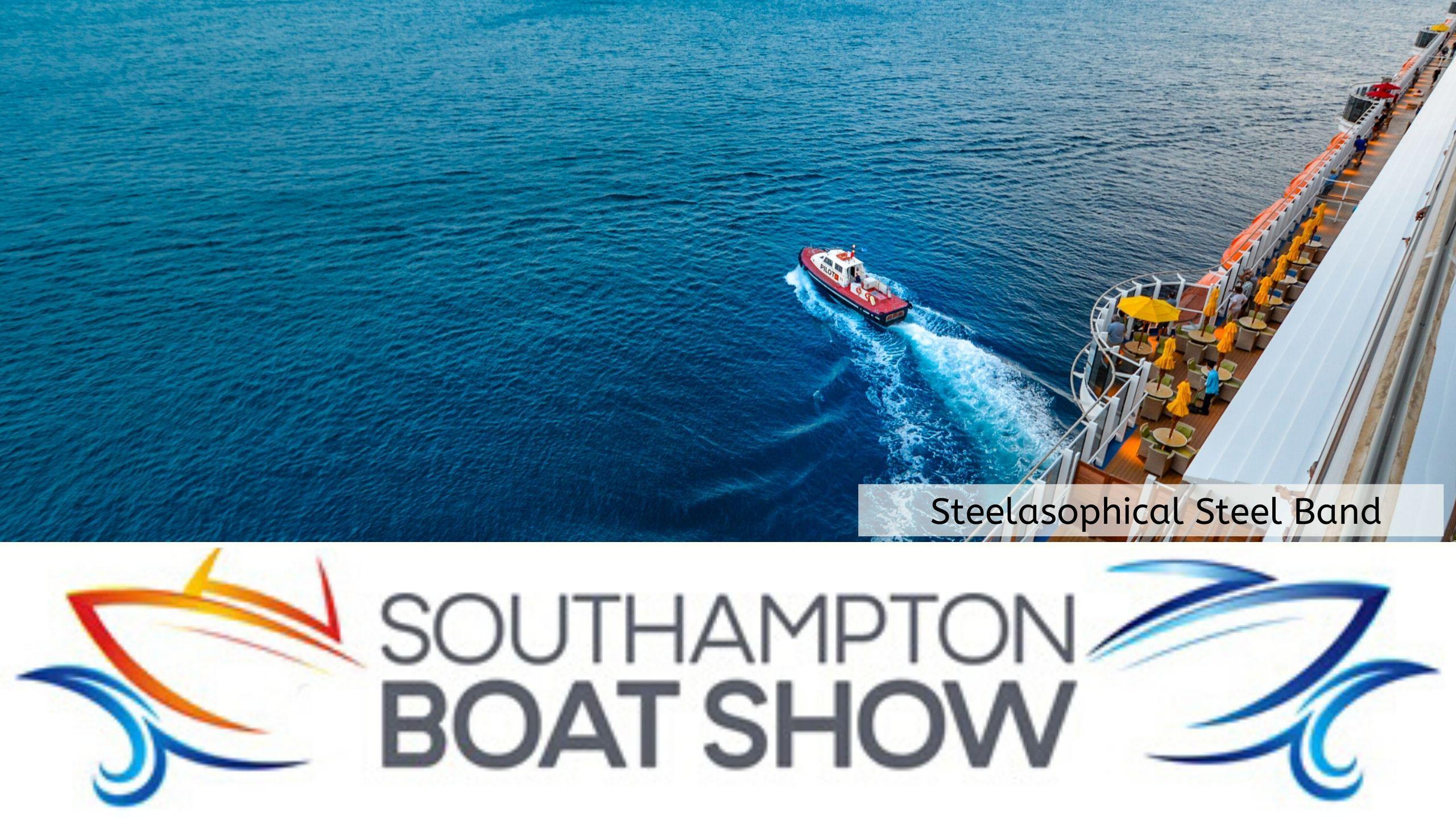 Steelasophical Steel Band Southampton Boat Show Yacht Market RFV