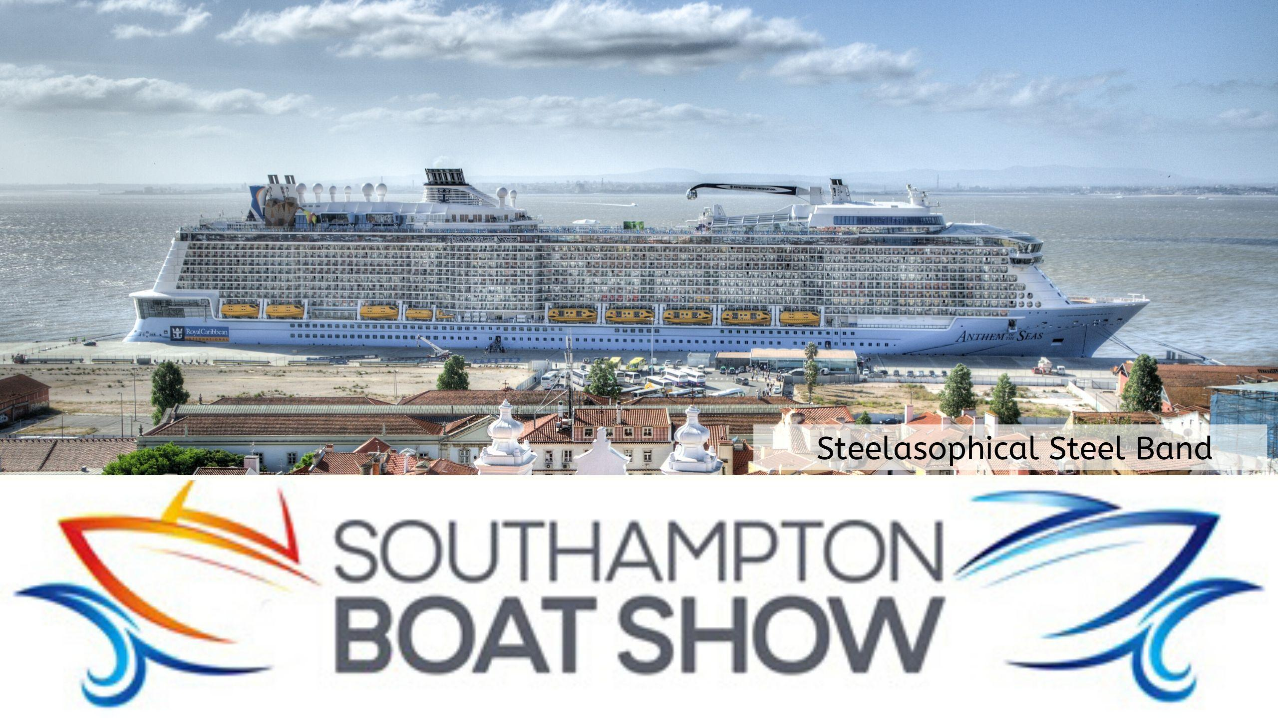 Steelasophical Steel Band Southampton Boat Show Yacht Market RF