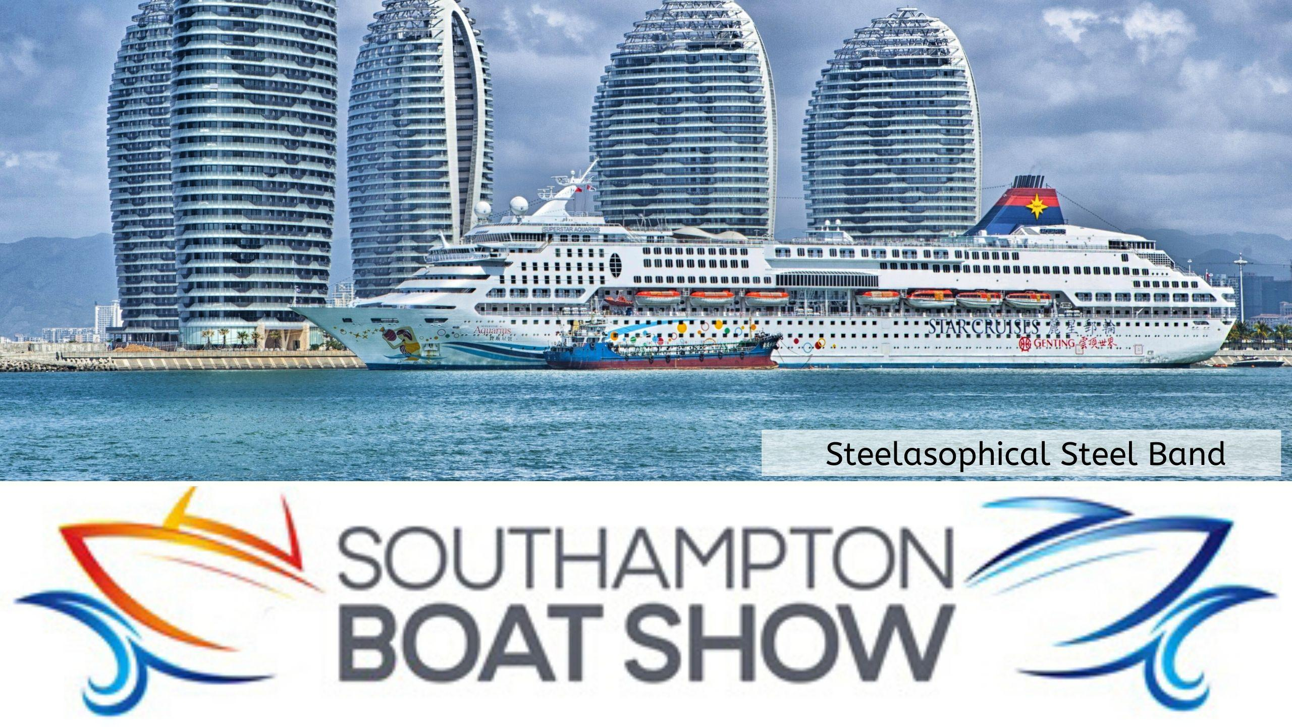 Steelasophical Steel Band Southampton Boat Show Yacht Market 001VV