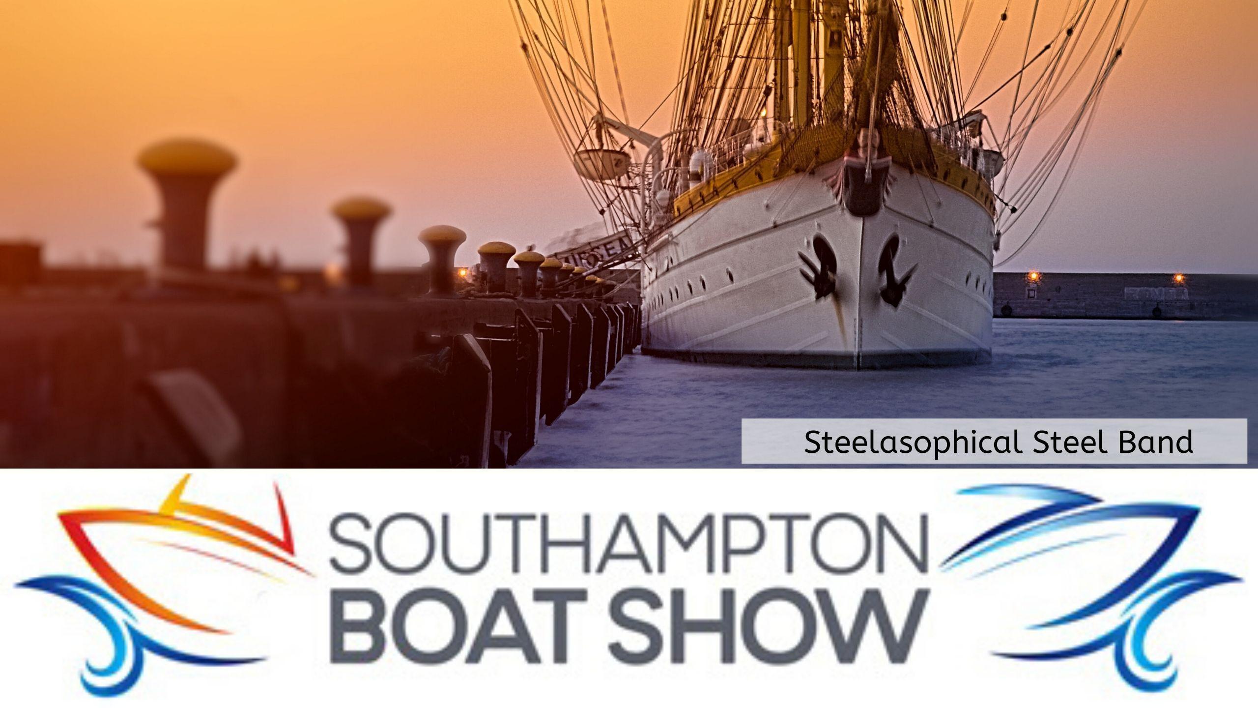 Steelasophical Steel Band Southampton Boat Show Yacht Market 001